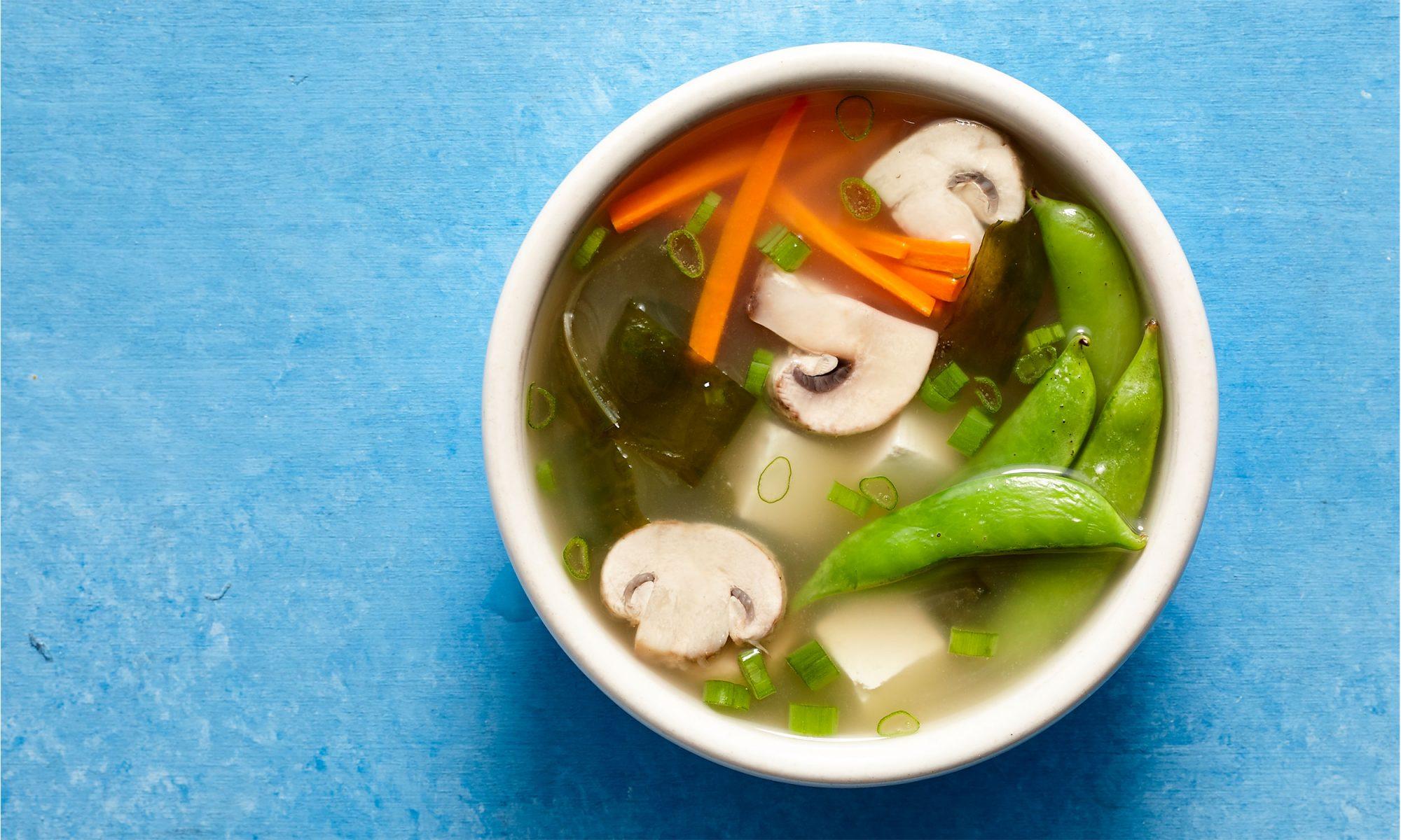 vegan miso soup video hero