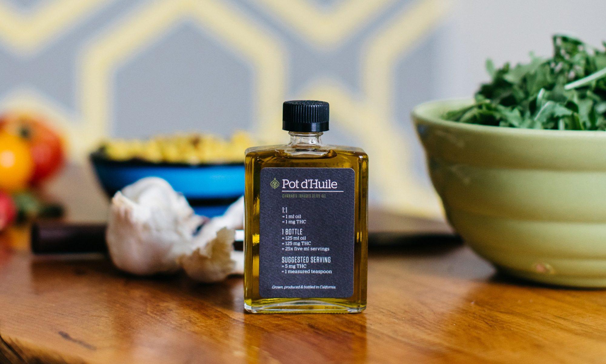 weed-infused pantry items