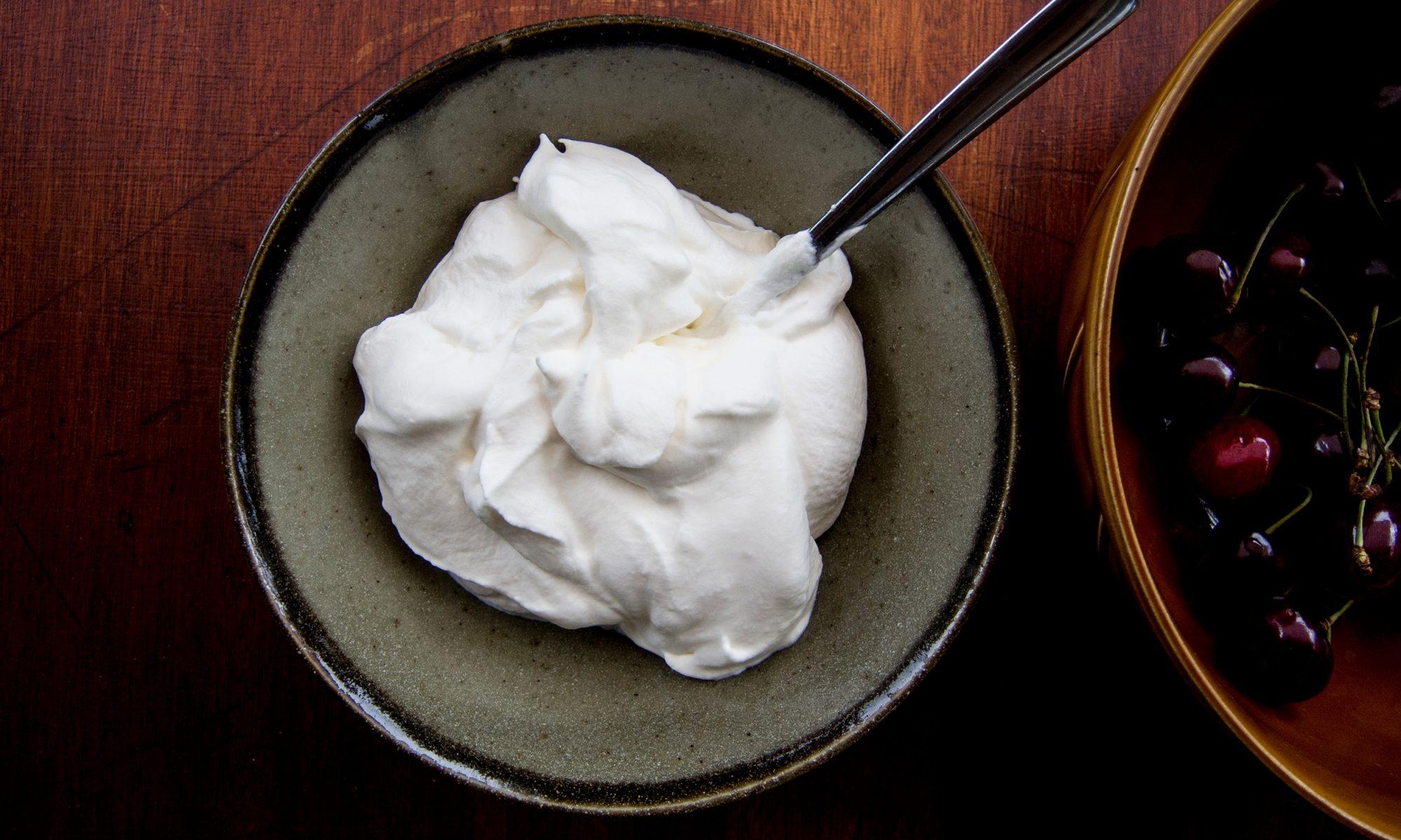 EC: Make Vegan Whipped Cream That's Better Than the Real Stuff
