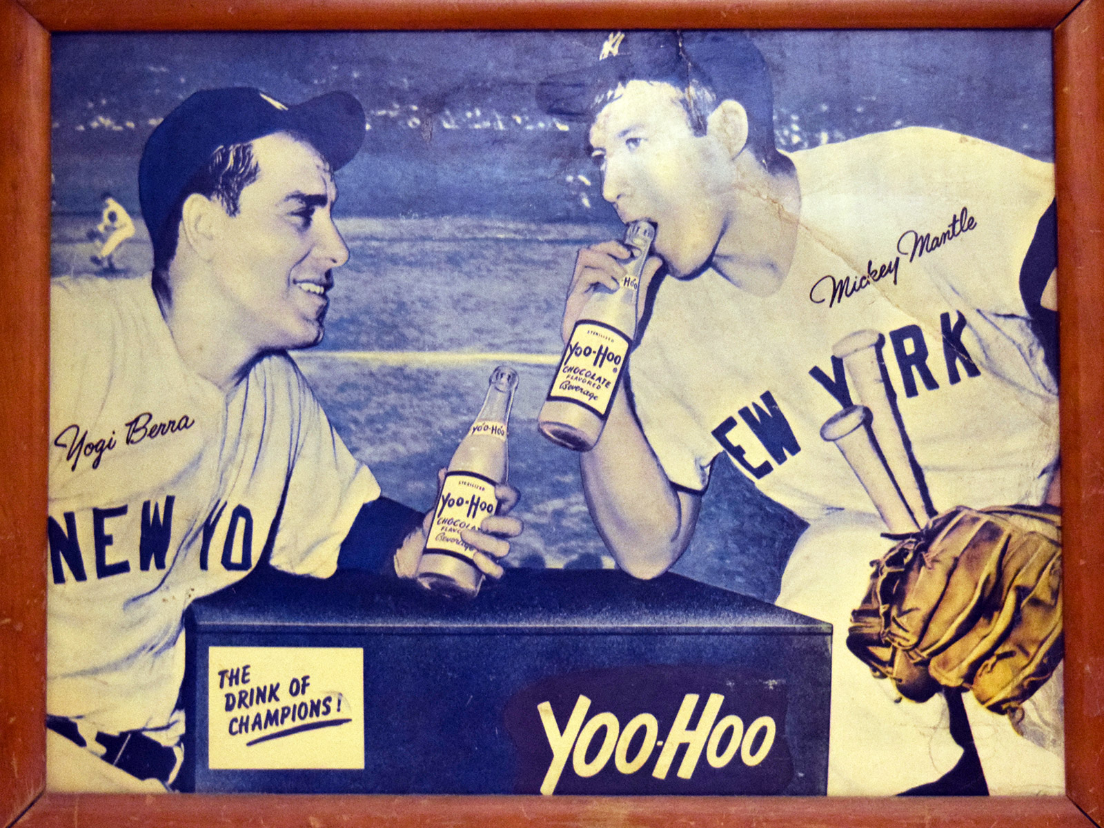 EC: Rare Yoo-hoo Advertisement Featuring Yogi Berra Sells for Thousands