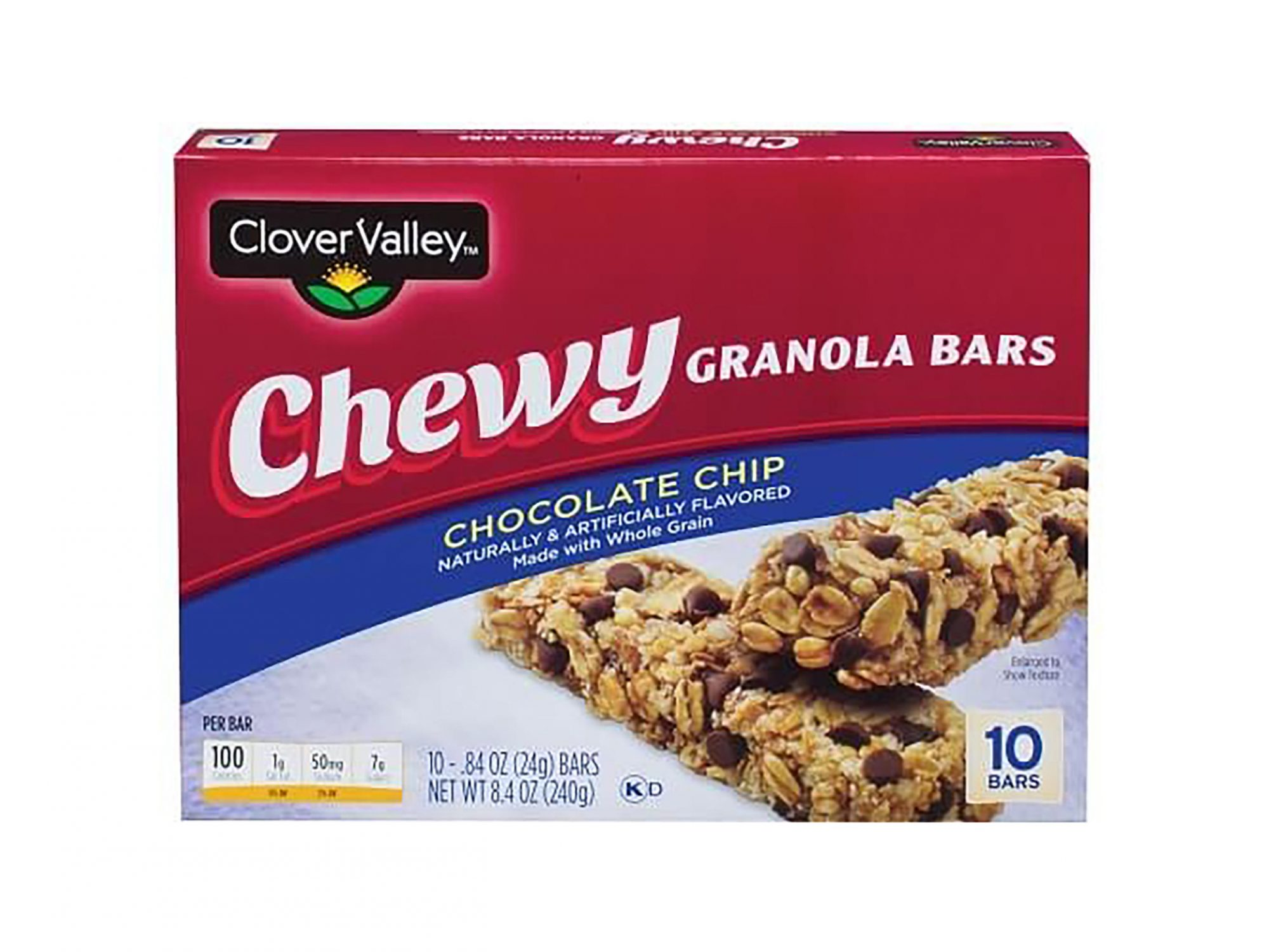 10 Surprisingly Healthy Foods You Can Buy at Dollar General 1802w-Dollar-General-Granola-Bars