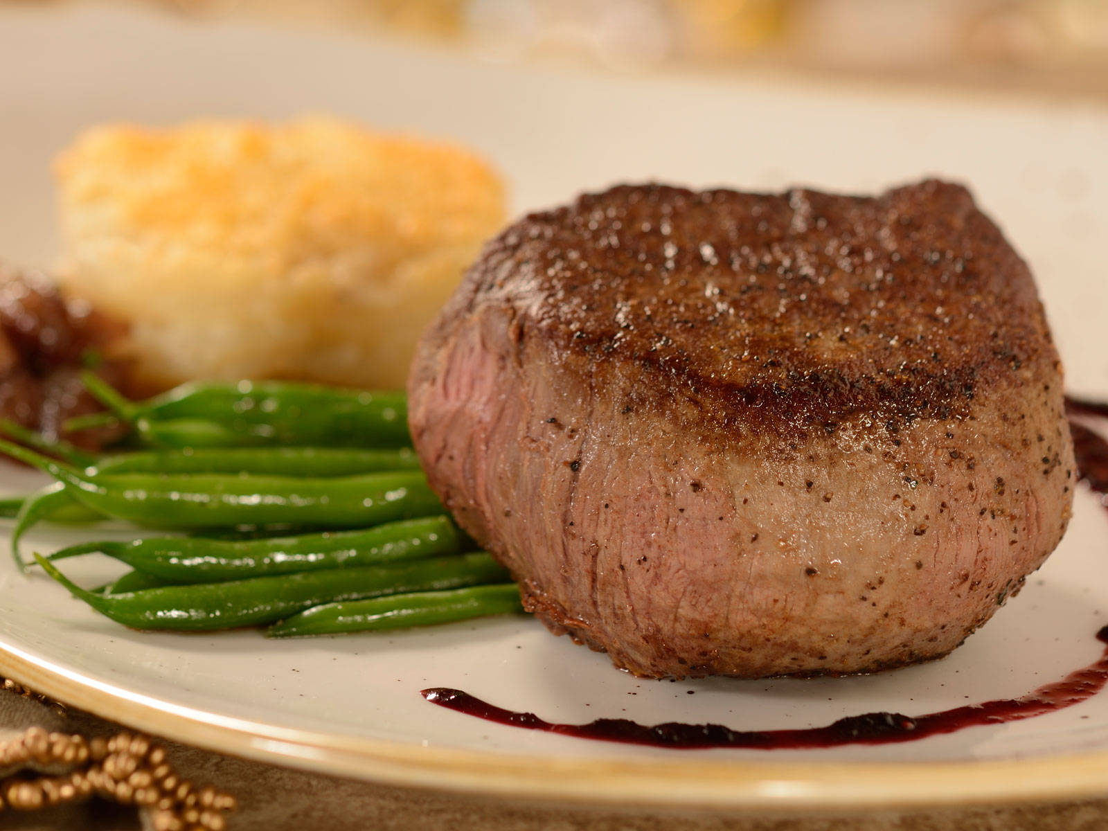 Disney World's 'Beauty and the Beast'-Themed Restaurant Menu Gets a Makeover This Summer disneyworld-be-our-guest-filet-mignon-FT-BLOG0218