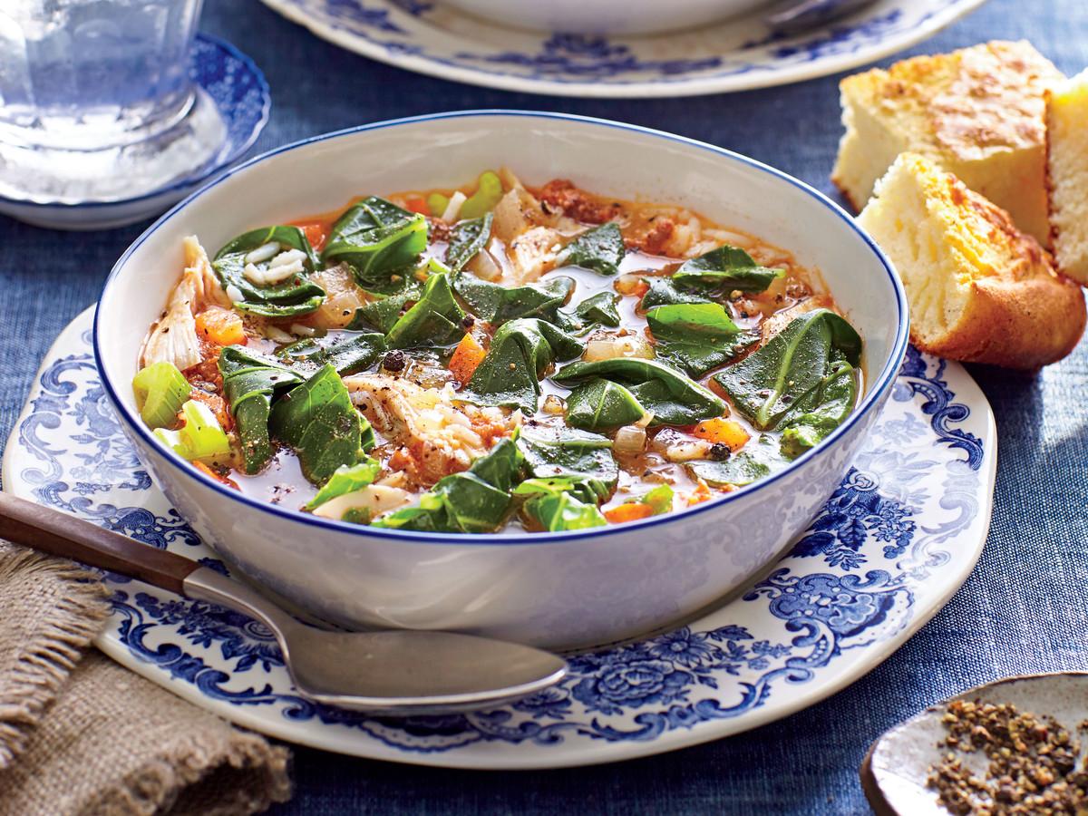 Turkey-and-Collard Green Stew