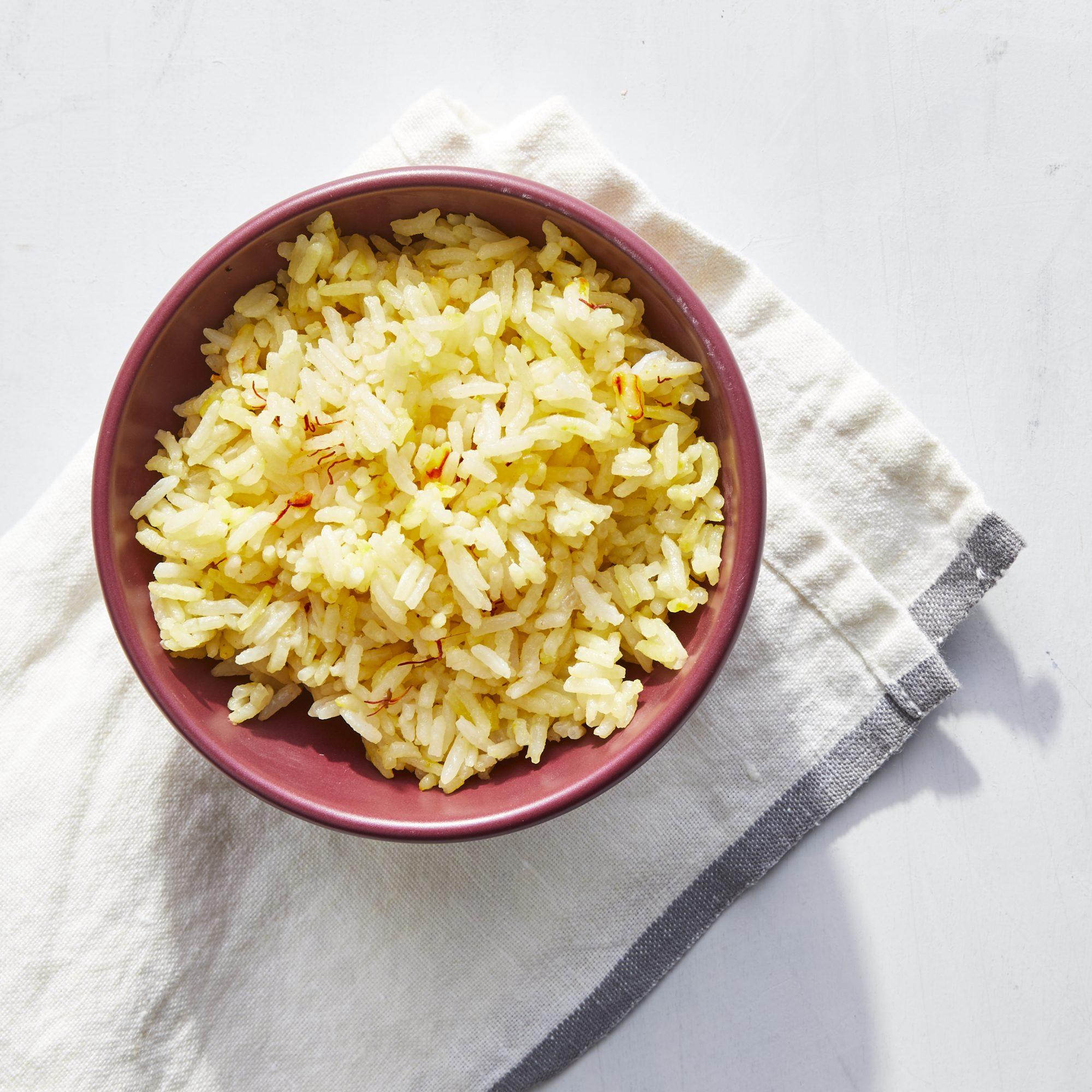 Instant Pot Saffron Rice image