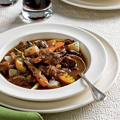 Beef and Guinness Stew Recipe | MyRecipes