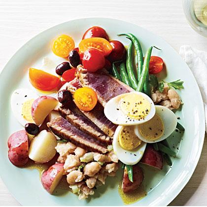 Seared Tuna Niçoise