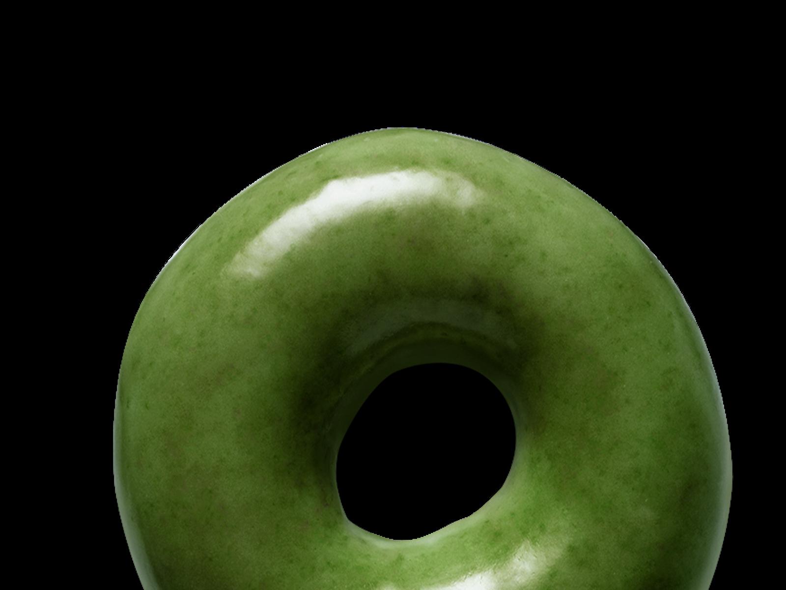 St. Patrick's Day Krispy Kreme