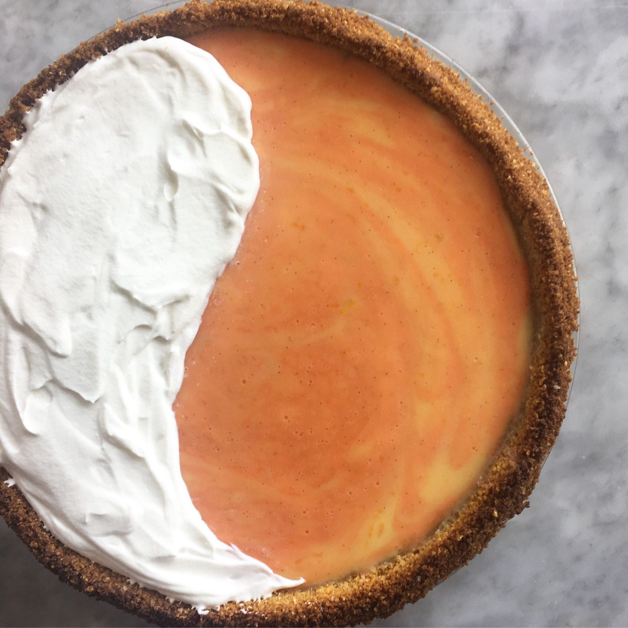 This Orange Cream Pie Tastes Just Like a Dreamsicle