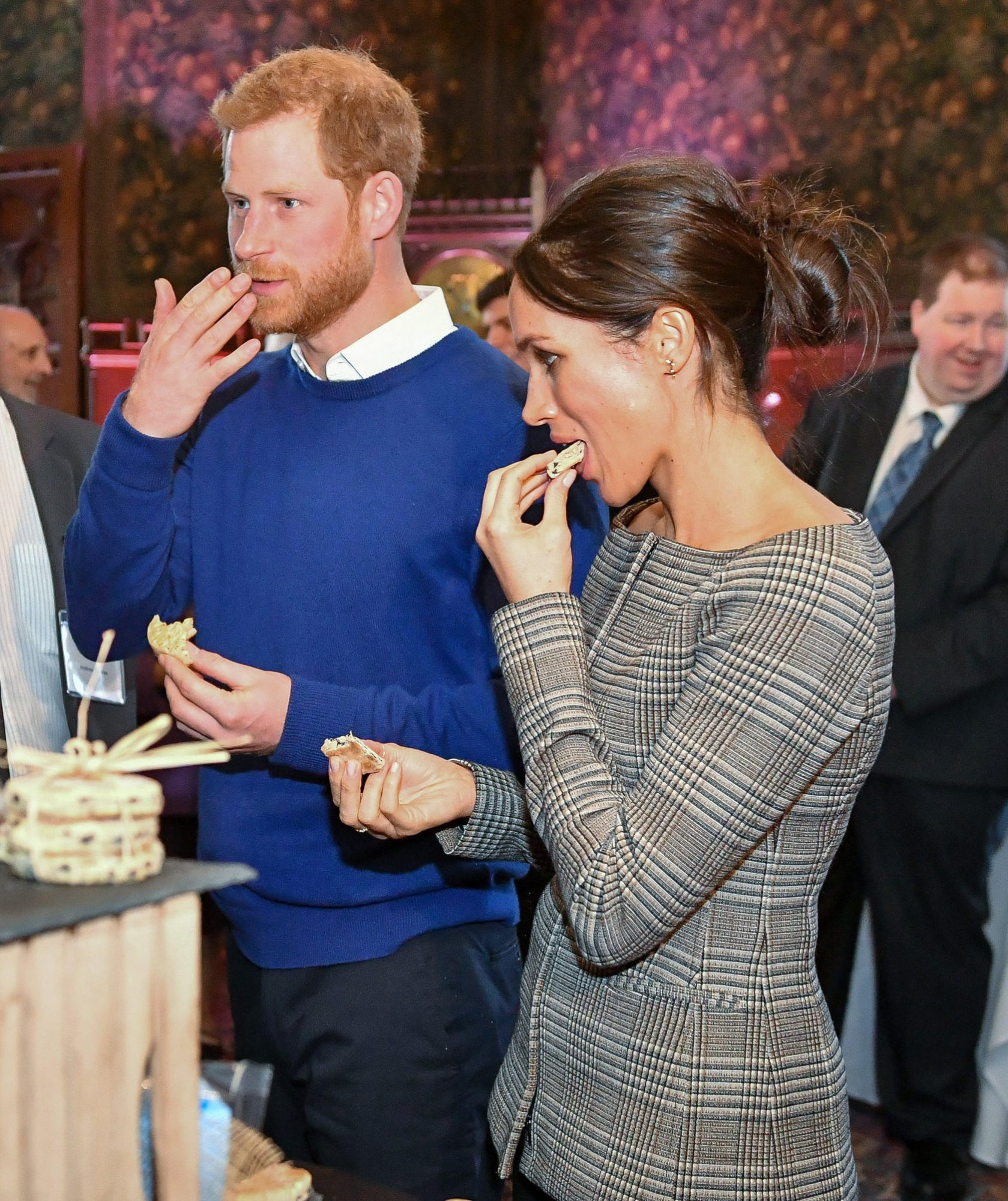 Surprising Nobody, Prince Harry and Meghan Markle Have Chosen a NontraditionalWedding Cake