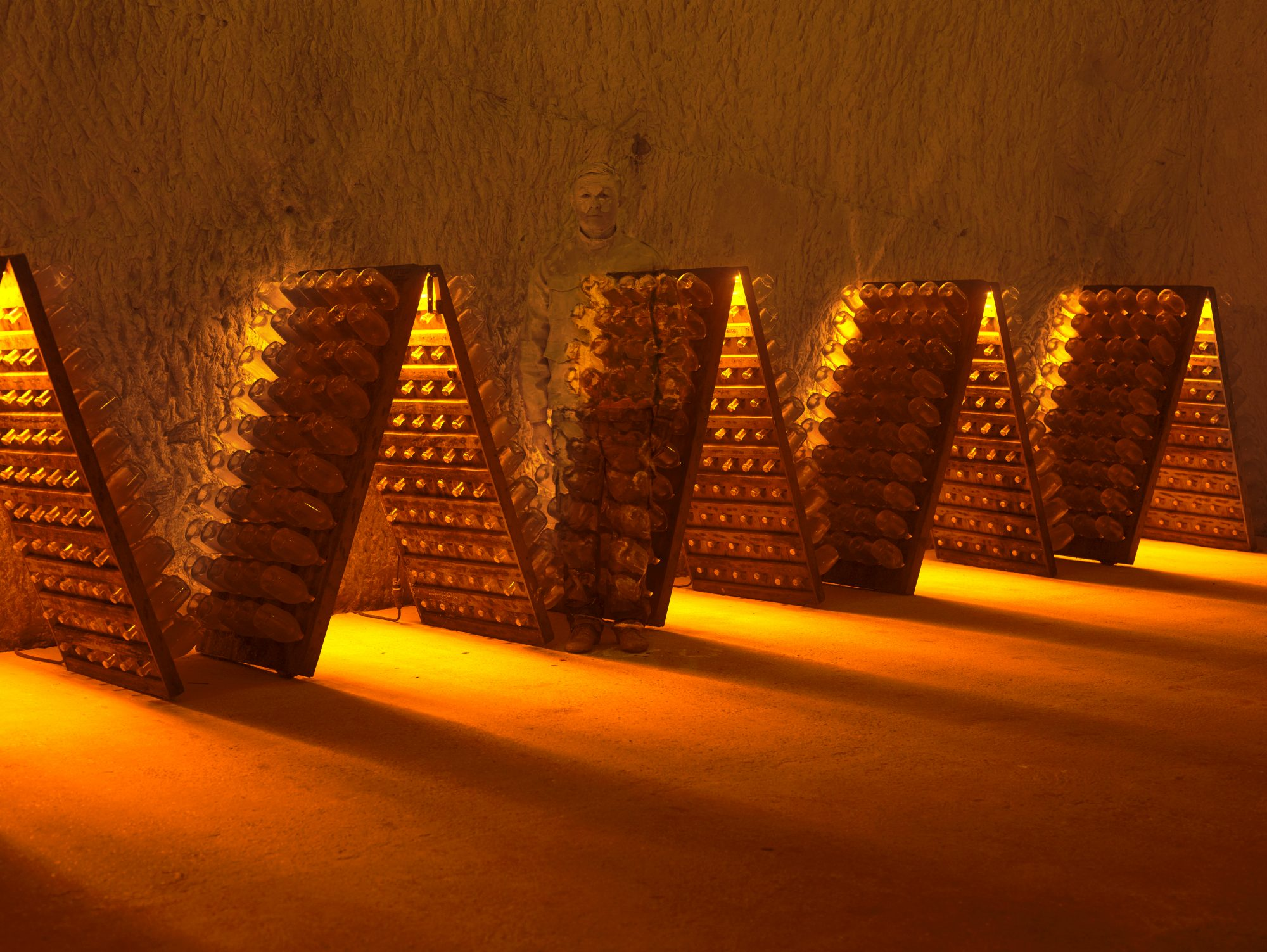 Ruinart champagne cellars