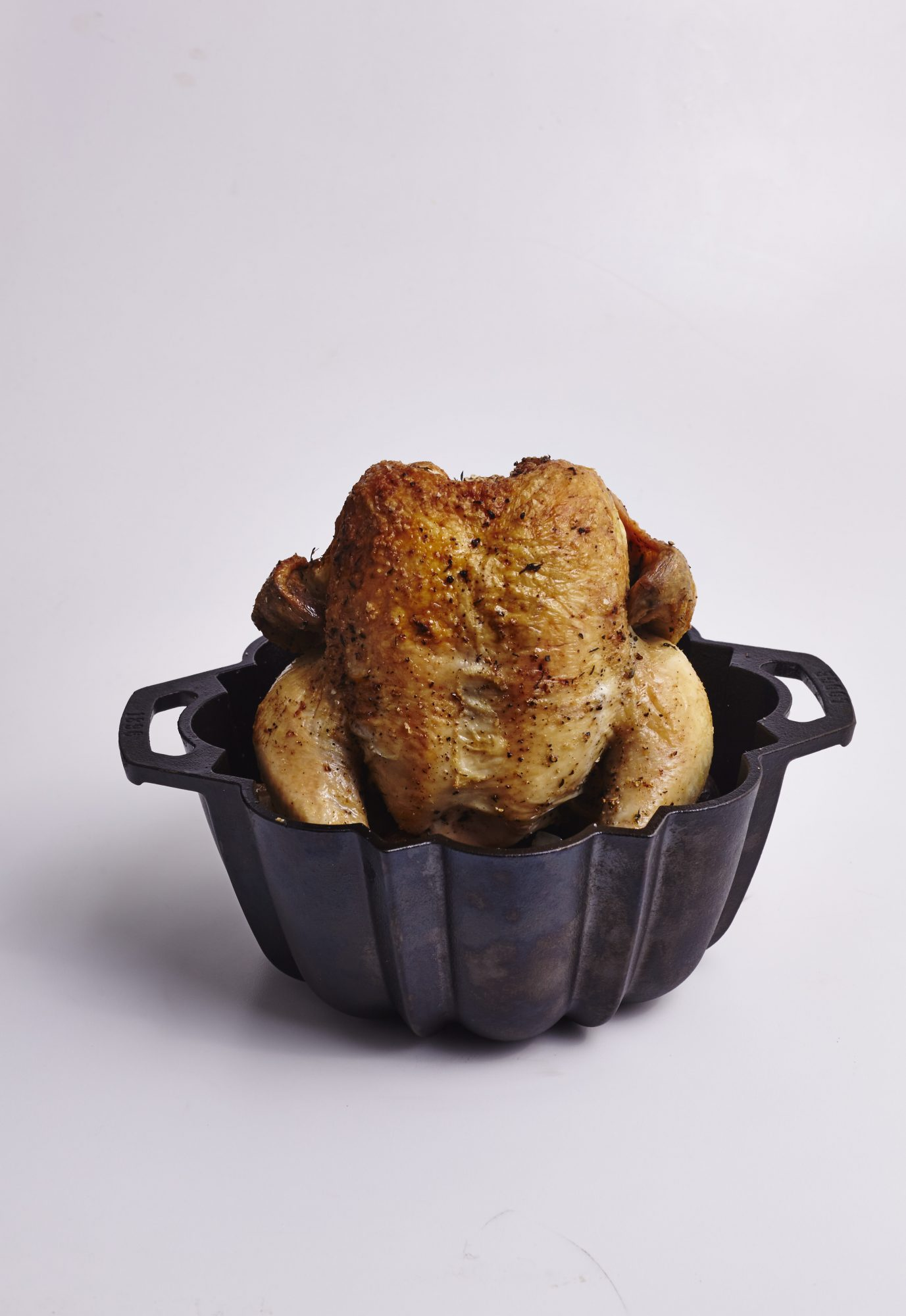 Bundt Pan Roasted Chicken Dinner image