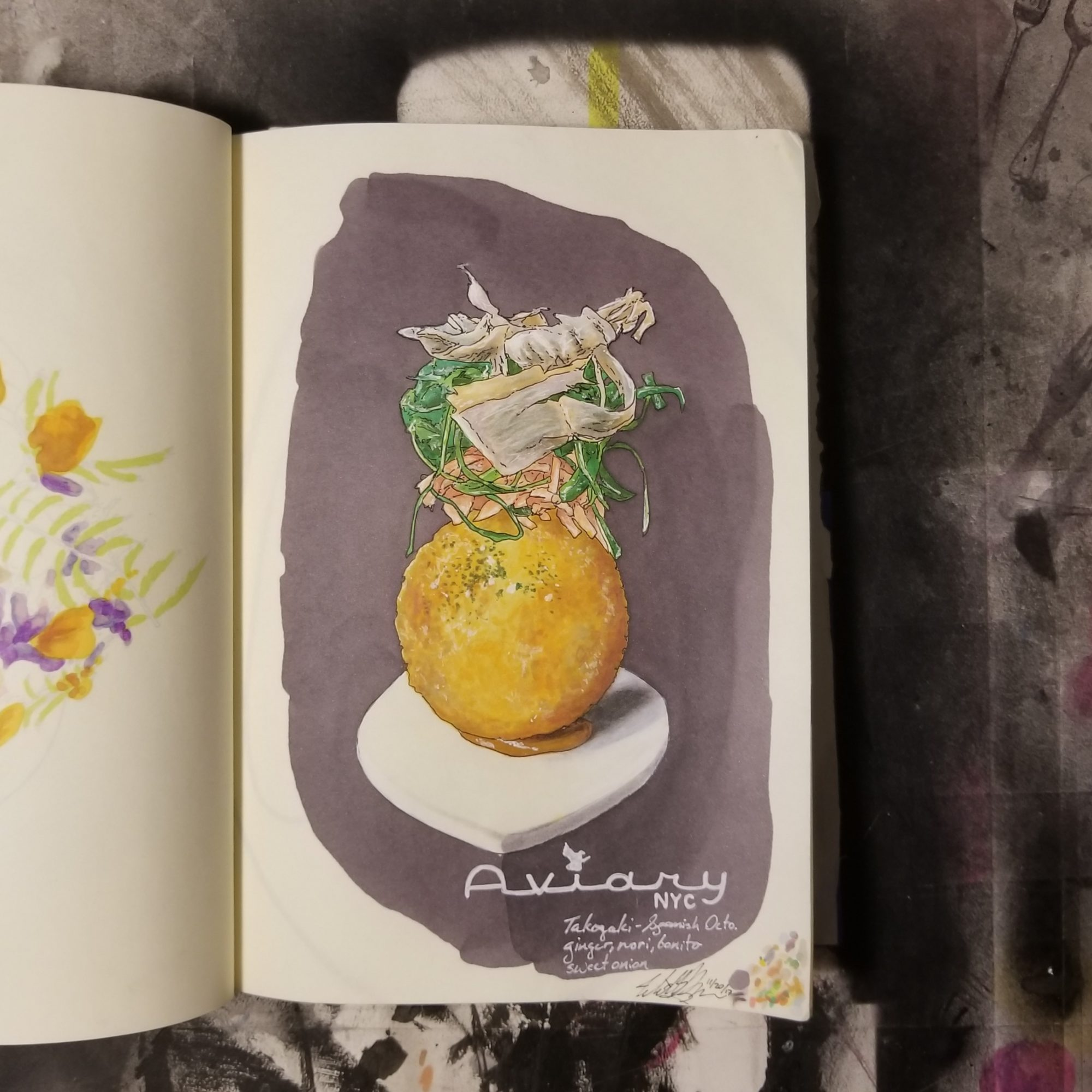 If You Follow One Chef on Instagram, This Chef-Turned-Illustrator Should Be It
