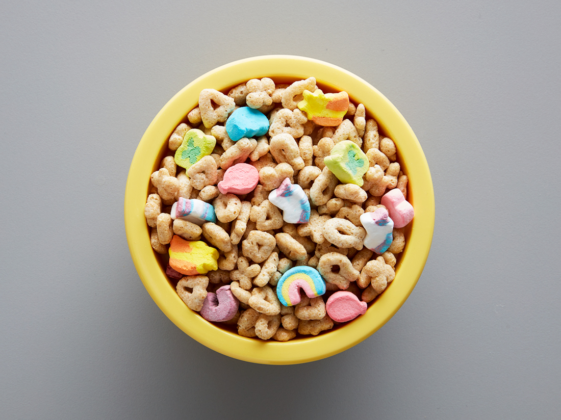 bowl of lucky charms magical unicorn charms