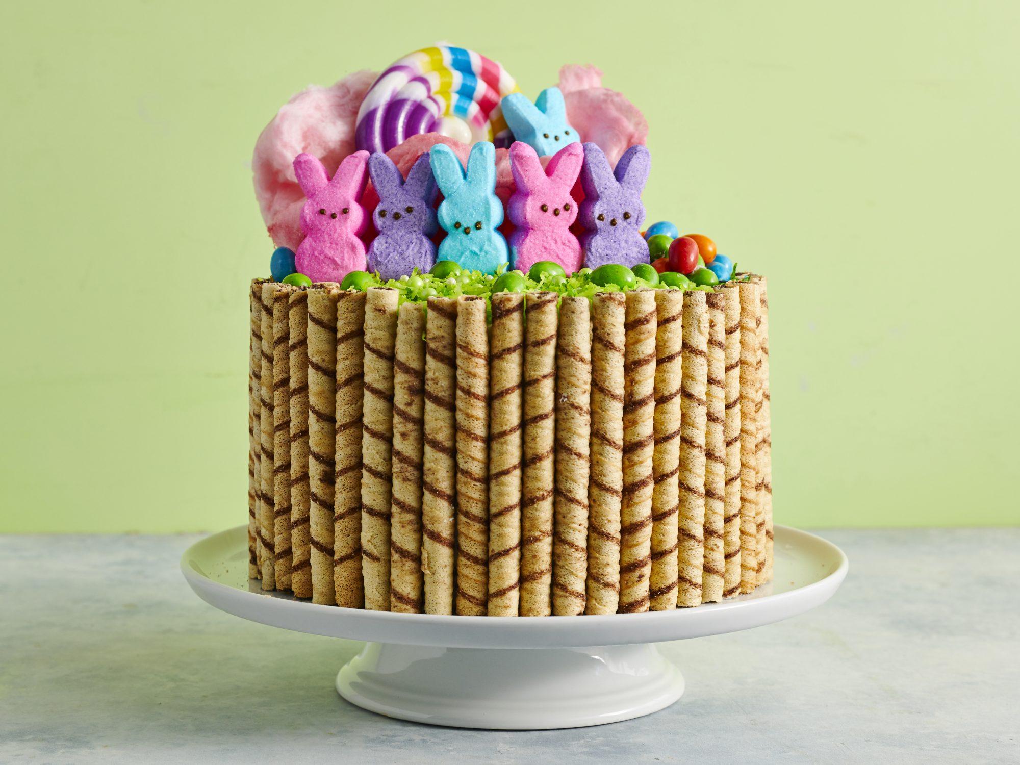 mr-Easter Basket Cake image