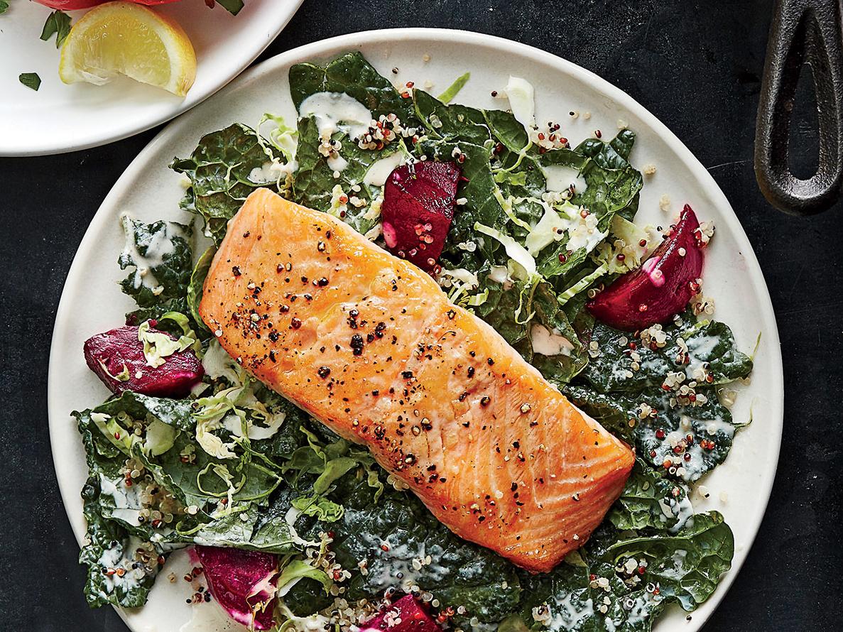 Supercharged Salmon Salad
