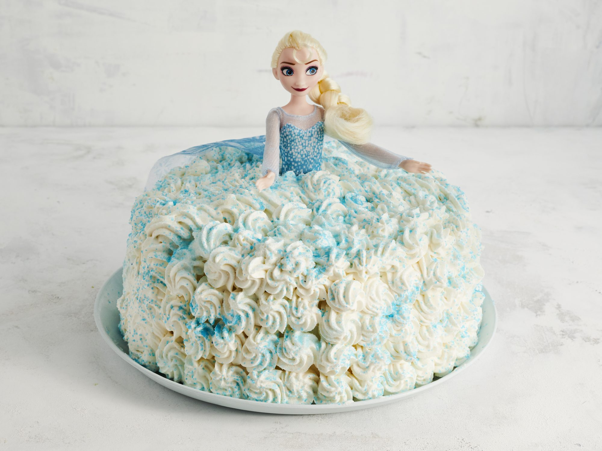 Ice Cream Princess Cake
