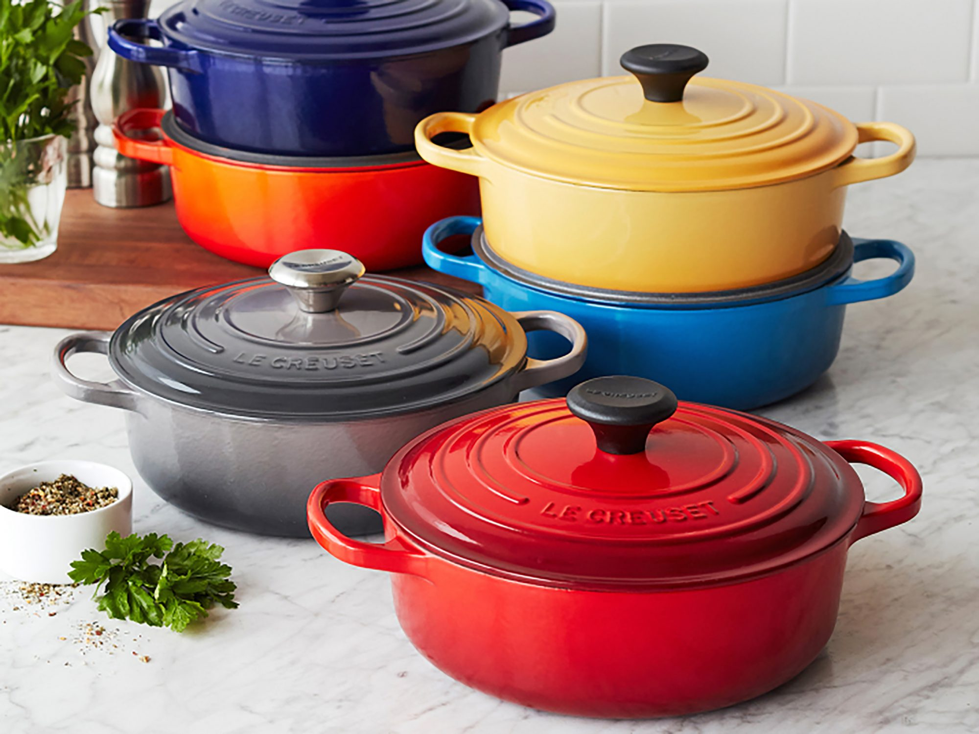 You Can Get a Classic Le Creuset Right Now for Under $200