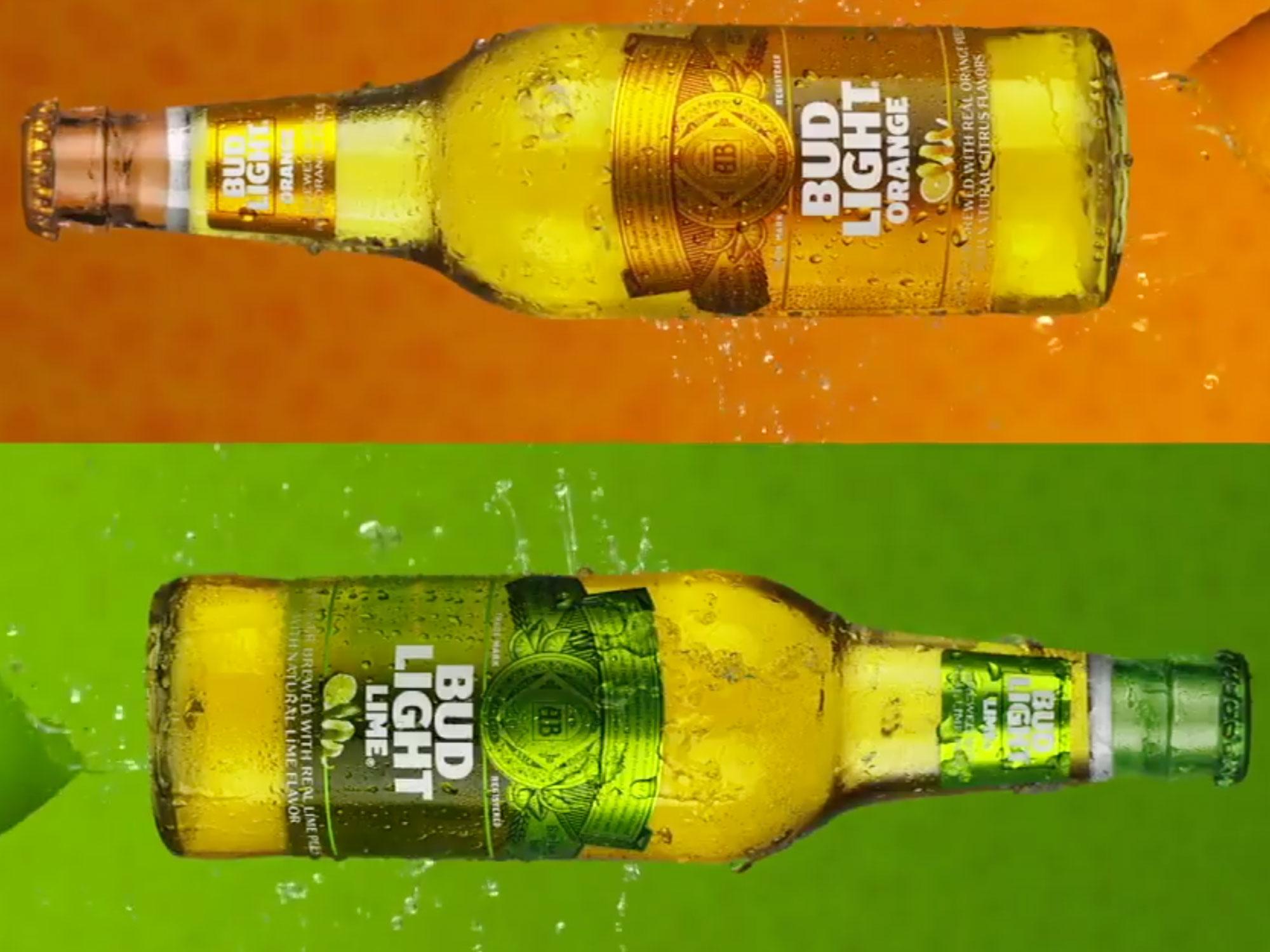 Budweiser Unveils Bud Light Orange Extra Crispy