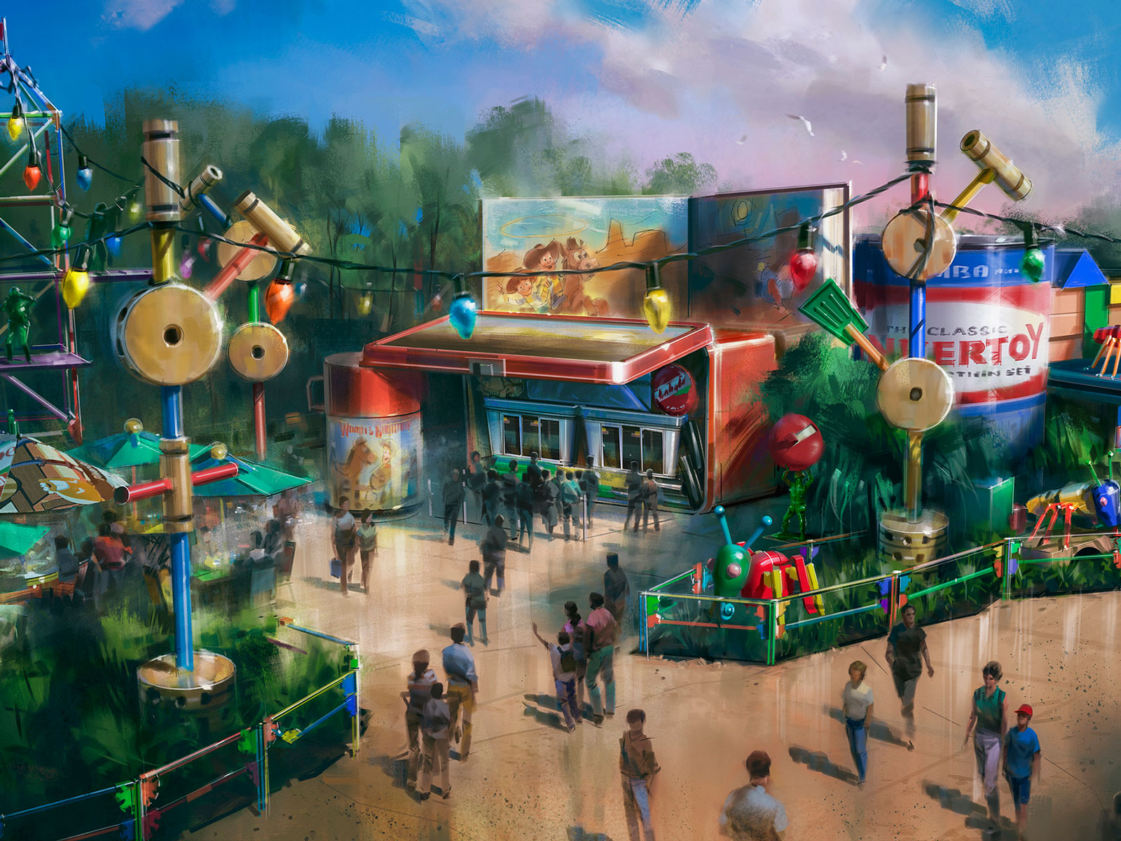 All the Food Coming to Disney World's Toy Story Land