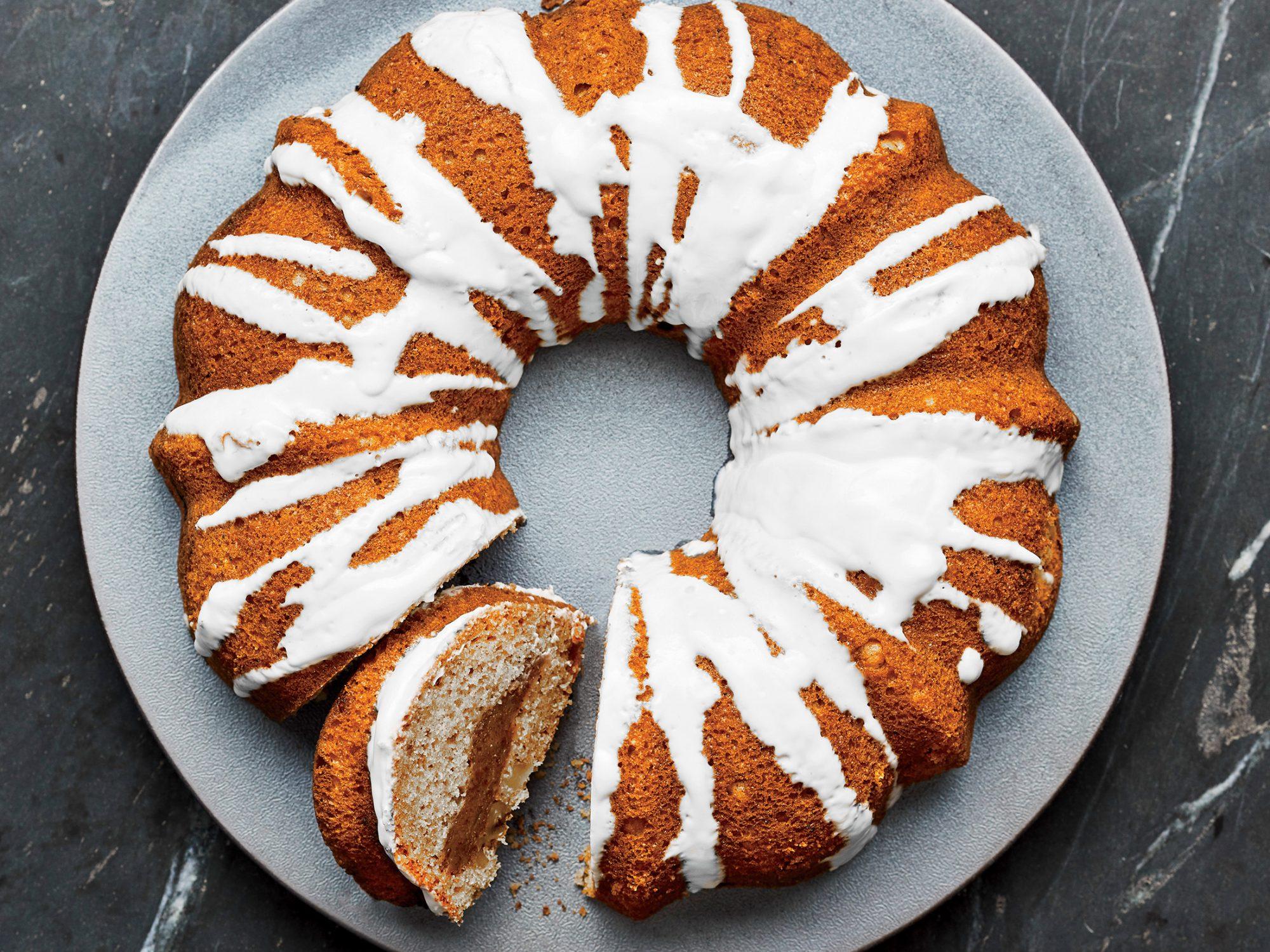 Orange-Walnut Coffee Cake