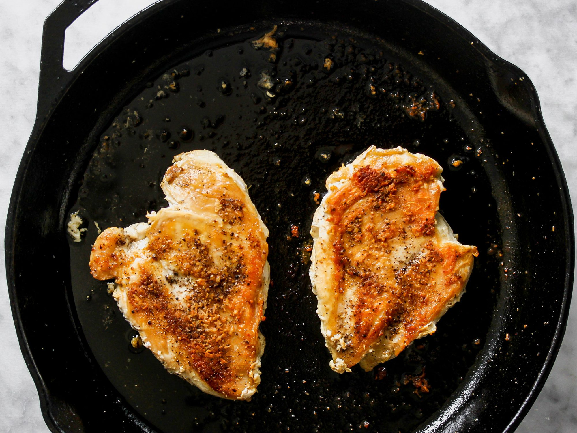 How to cook thin chicken breast in skillet