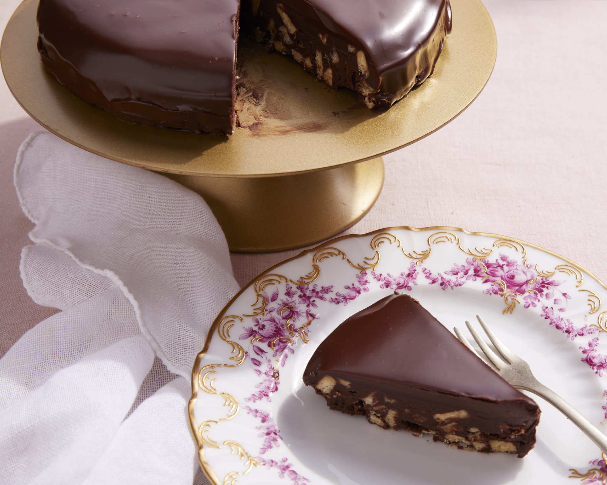 Chocolate Biscuit Cake image