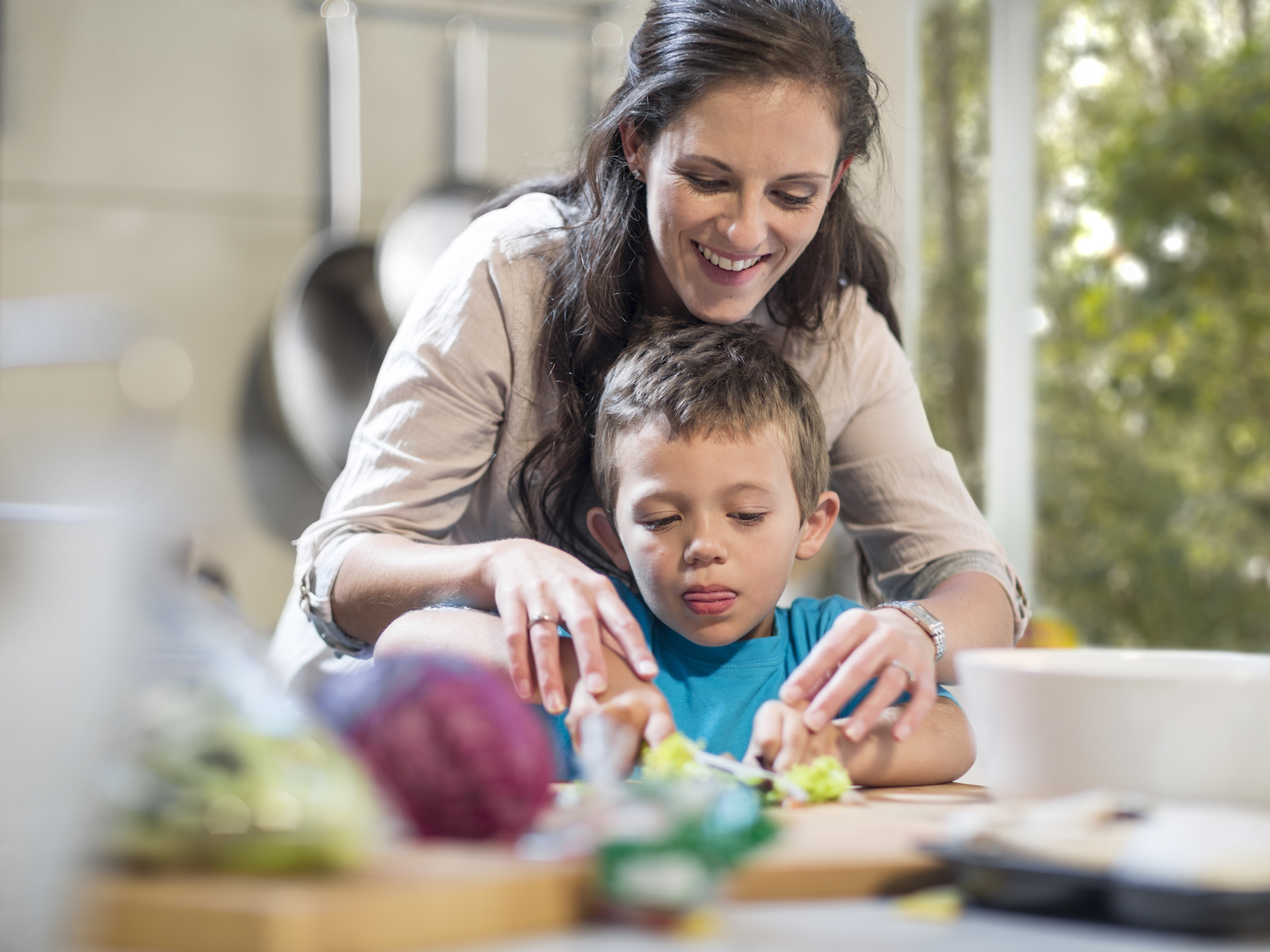How to Spend More Time with Your Kids in the Kitchen