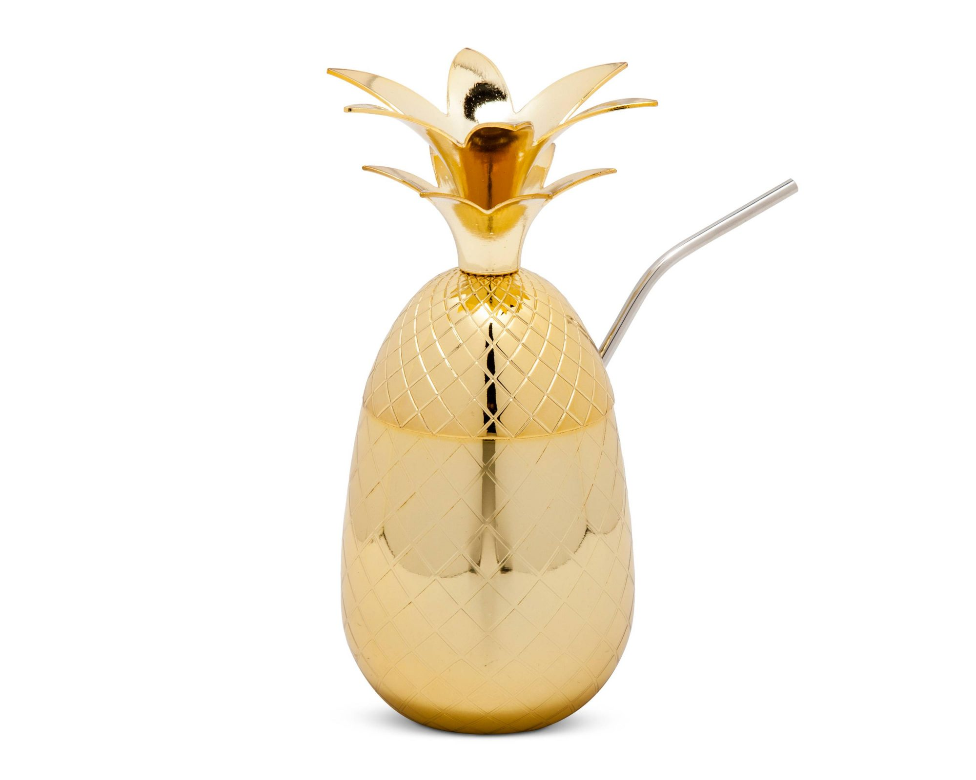 Golden Pineapple Tumbler