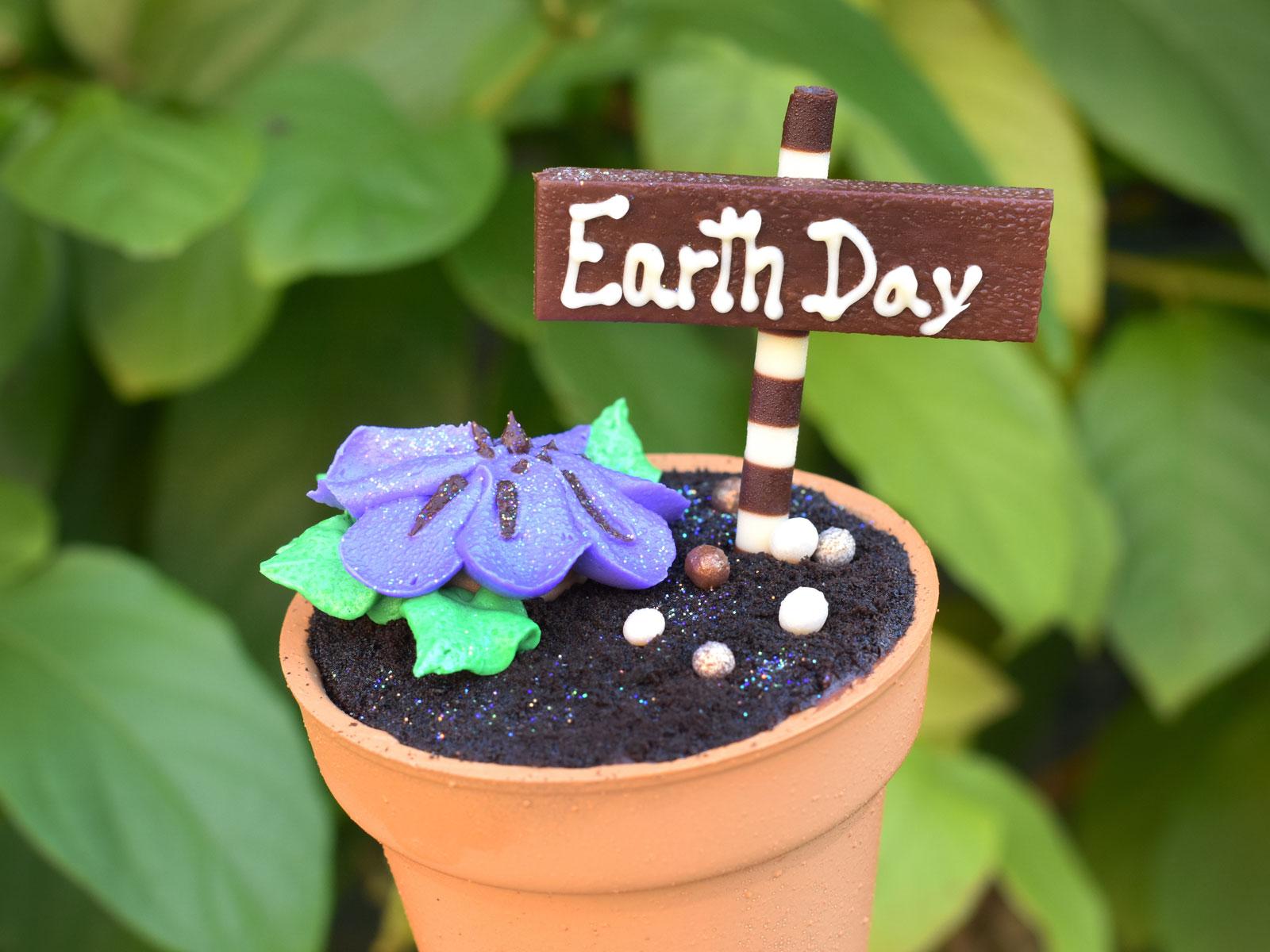 Disney World Debuts 5 Garden-Themed Cupcakes for Earth Day