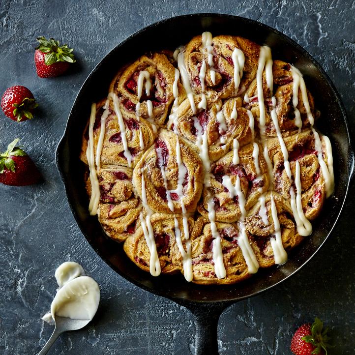 Strawberry Cheesecake Rolls image