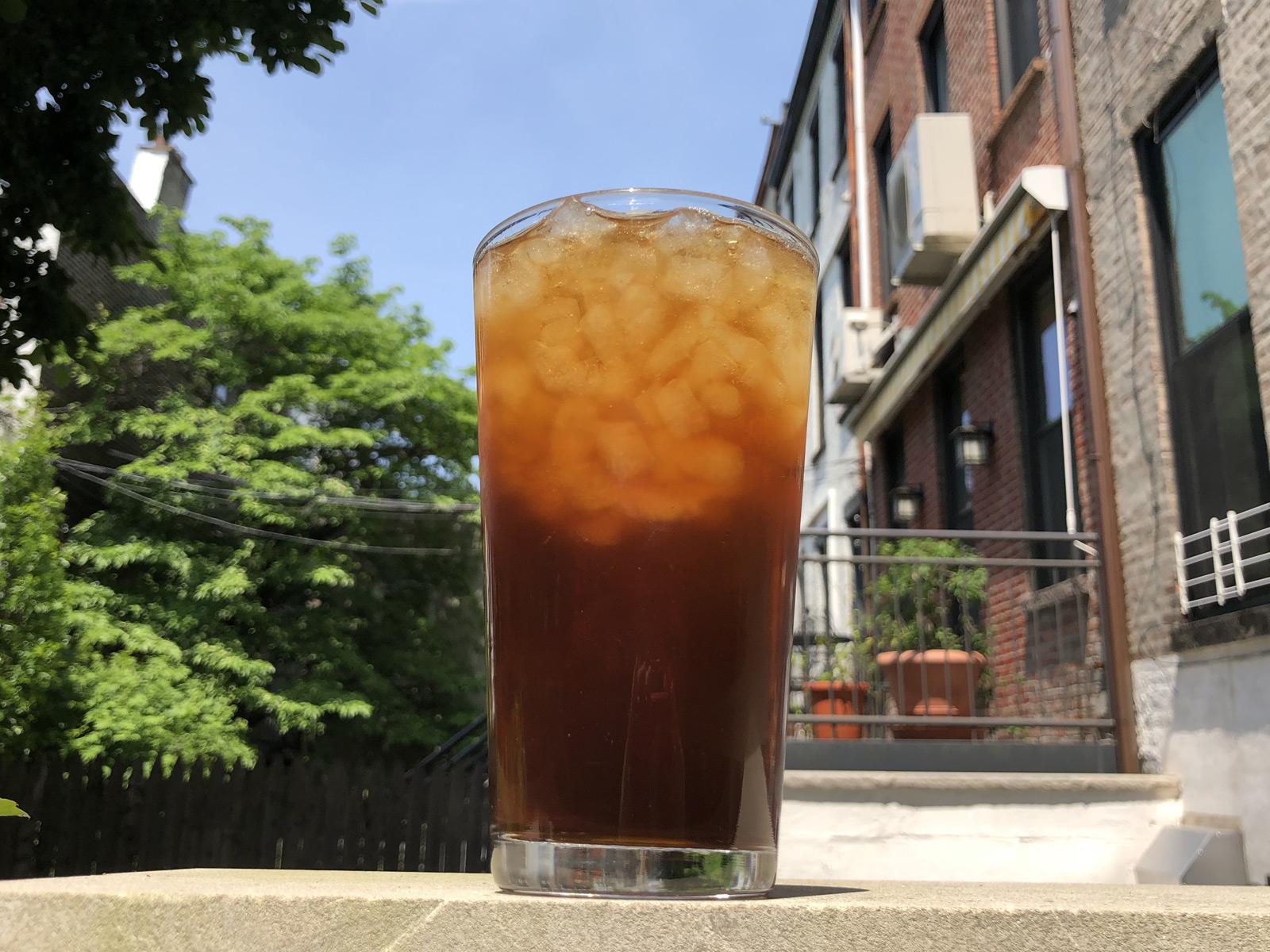 Coffee Fizz Is the Laziest, Best Summer Drink
