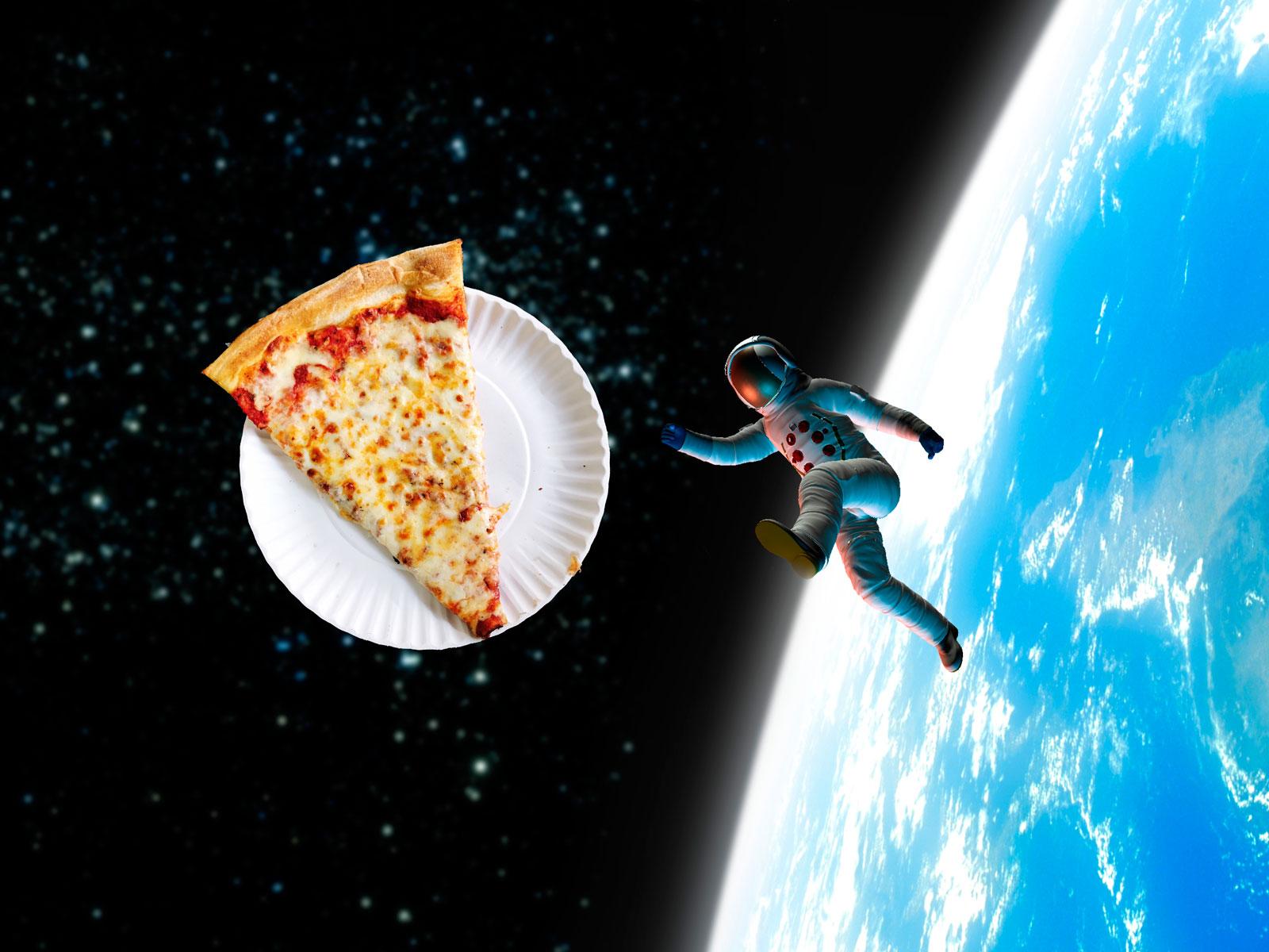 Astronaut Pizza