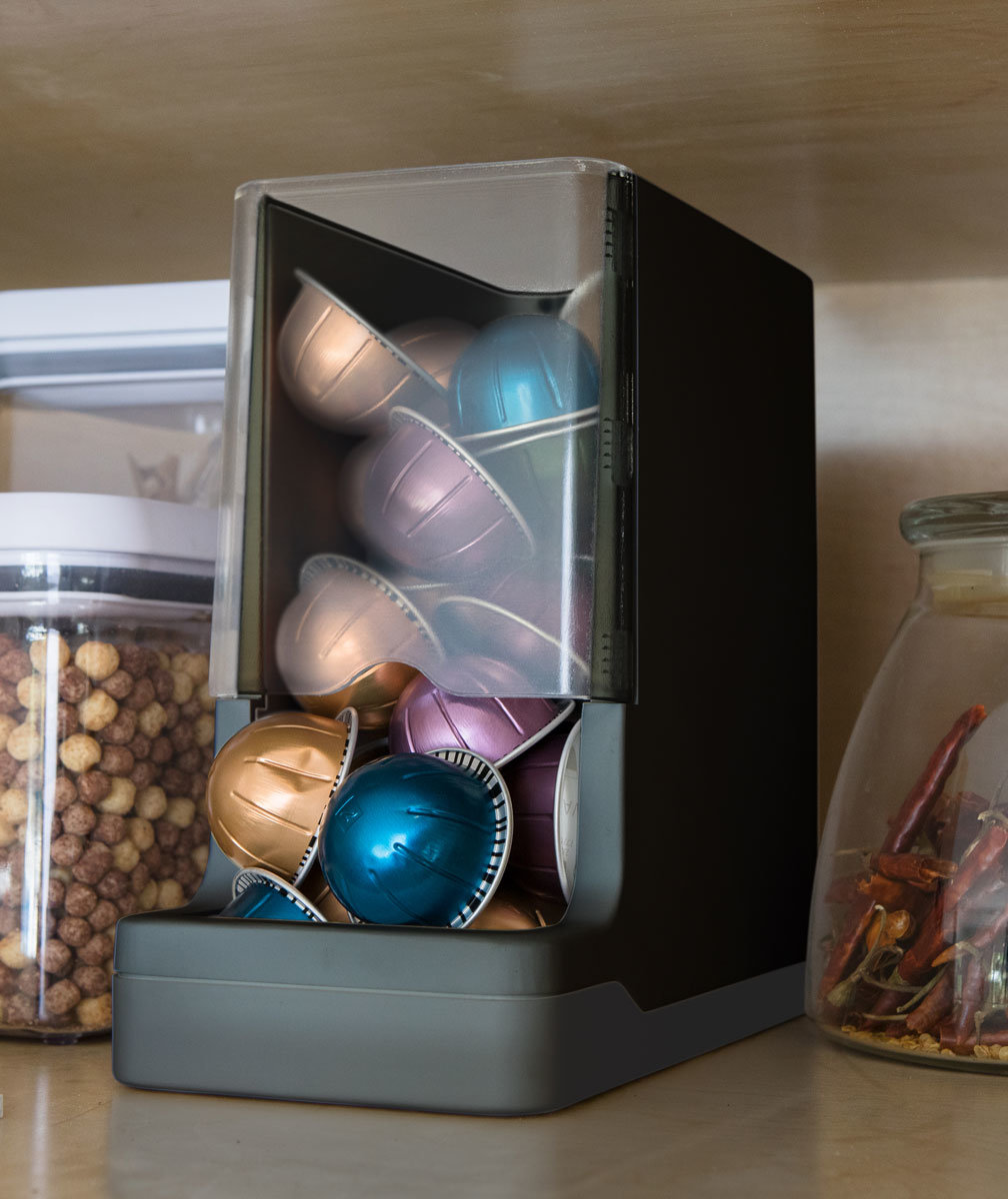 This Smart Pantry System Will Make Sure You Never Run Out of Snacks Again