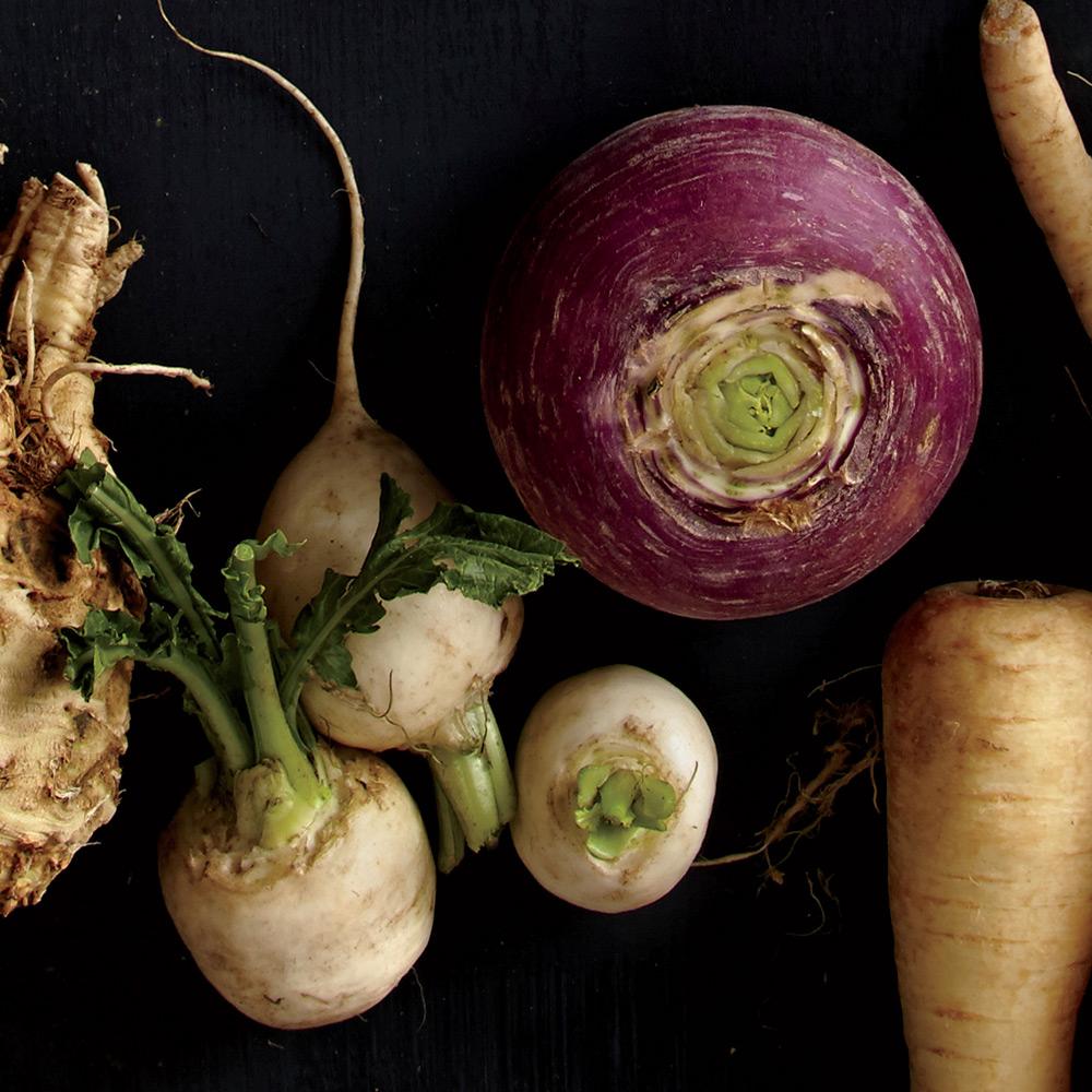 Root Vegetable Turnips