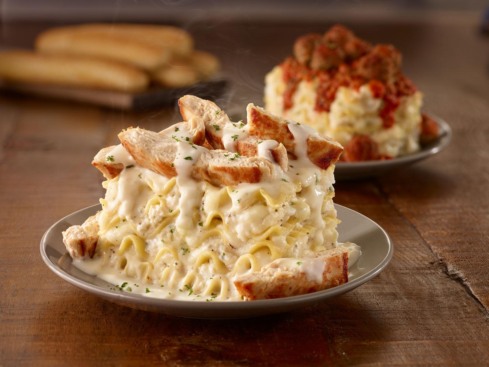 Olive Garden Introduces 'Customizable' Lasagna