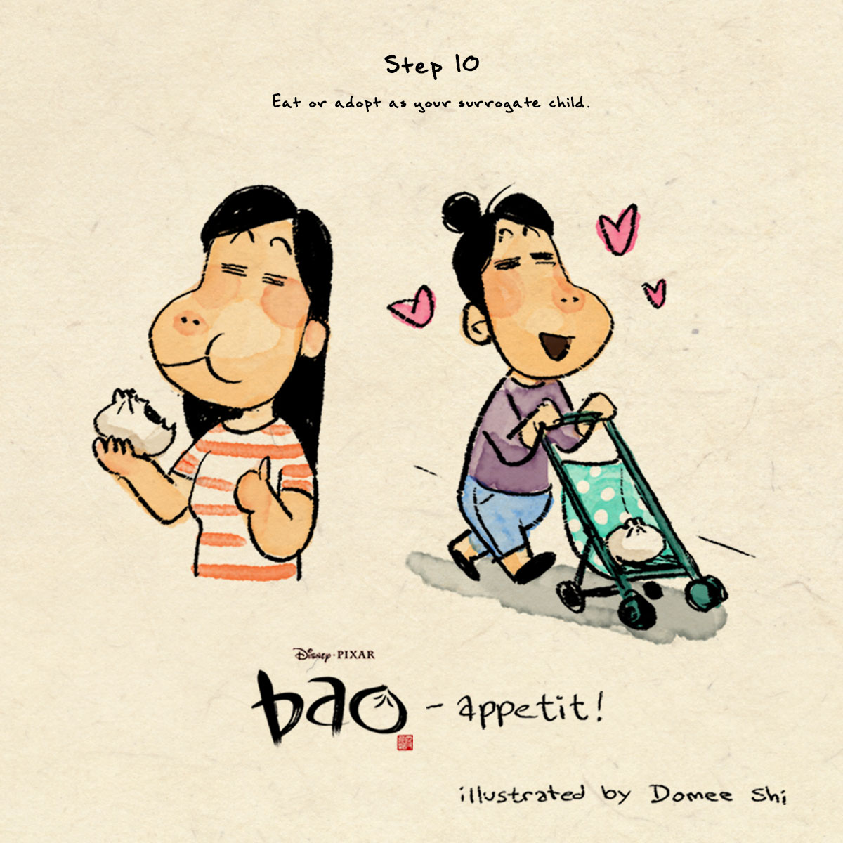 Pixar 'Bao' Director Domee Shi Gave Us Her Mom's Dumpling Recipe Bao-13
