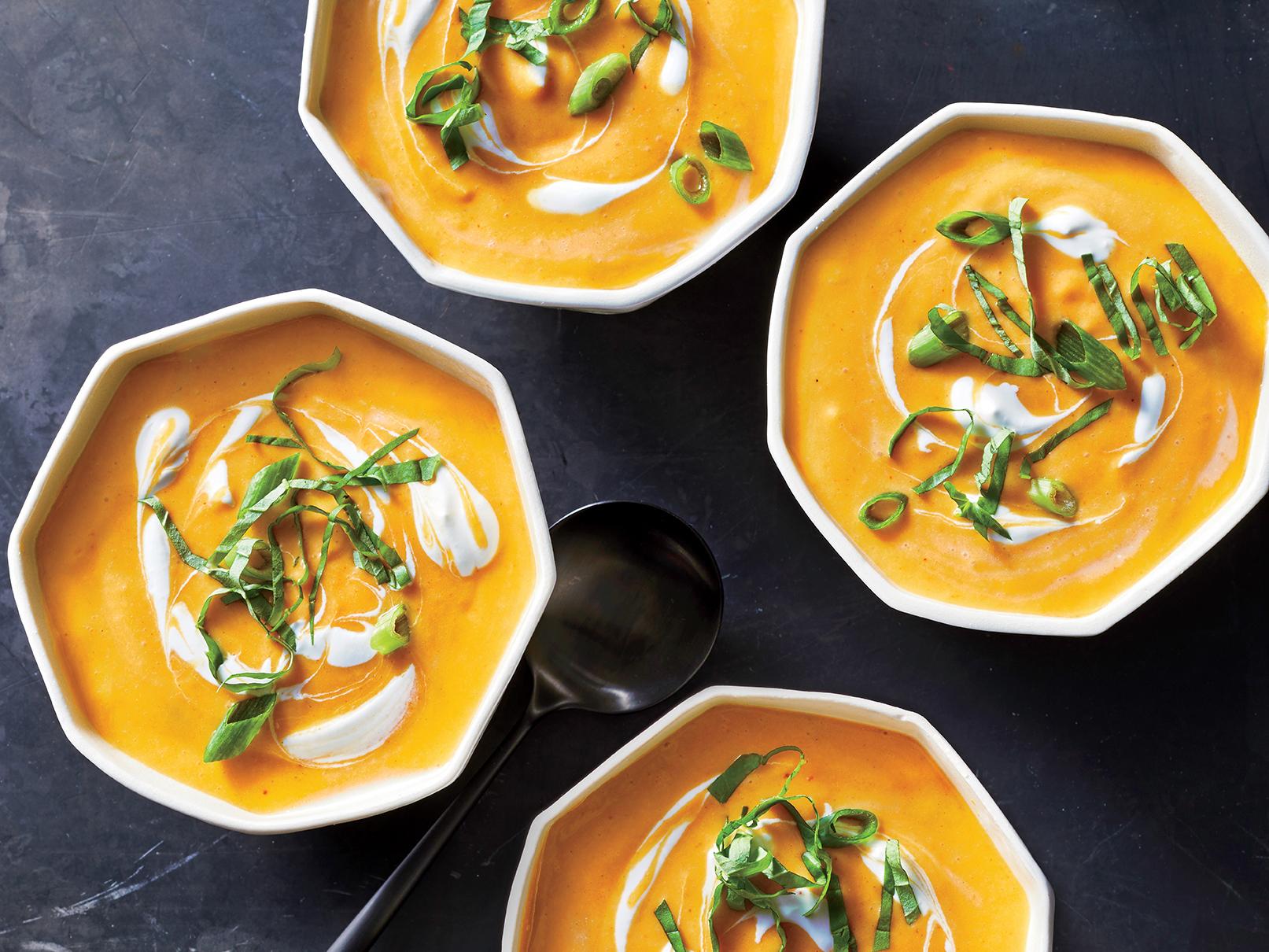 Thai Curried Squash Soup