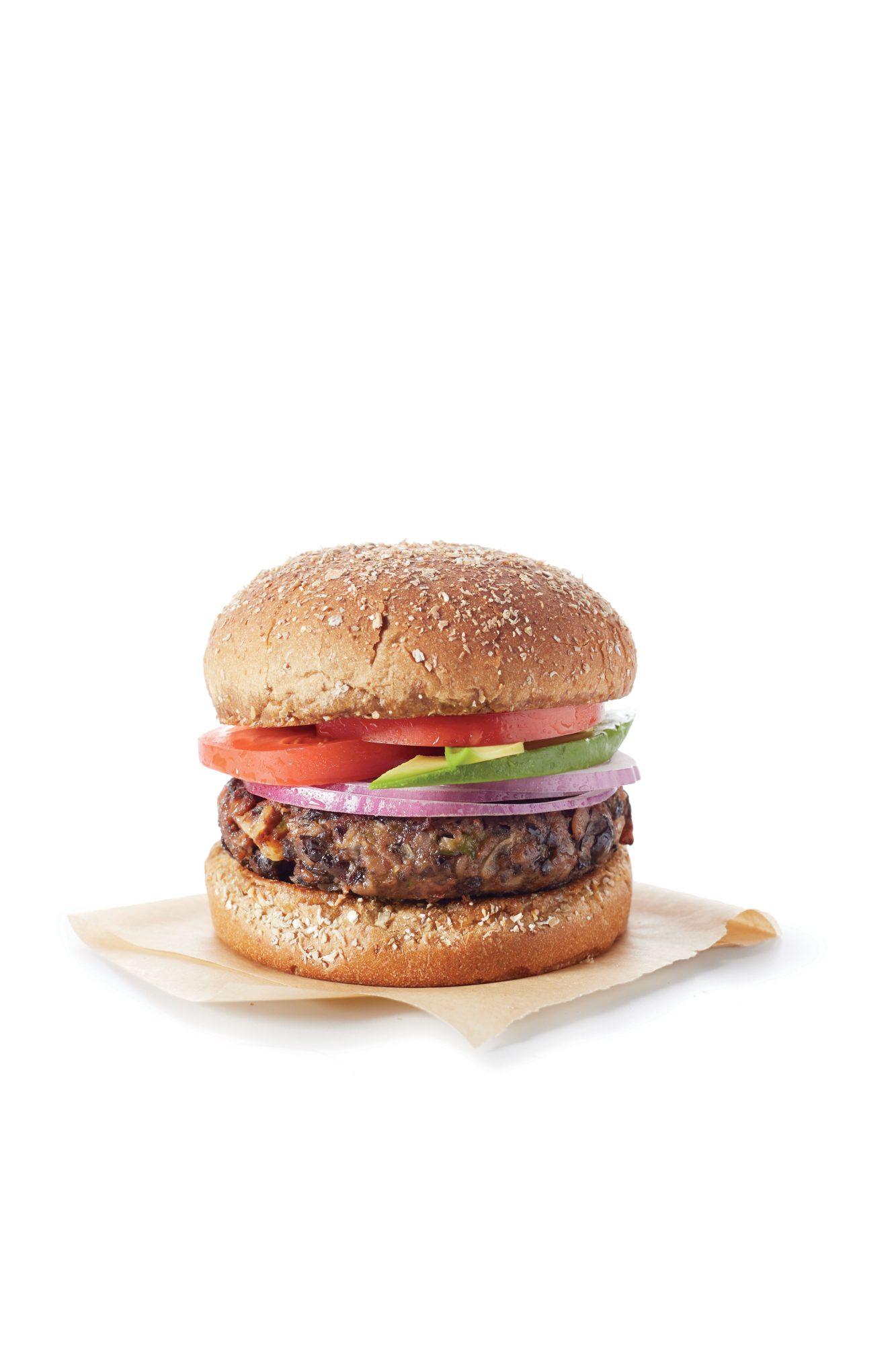 20-Minute Black Bean Burgers
