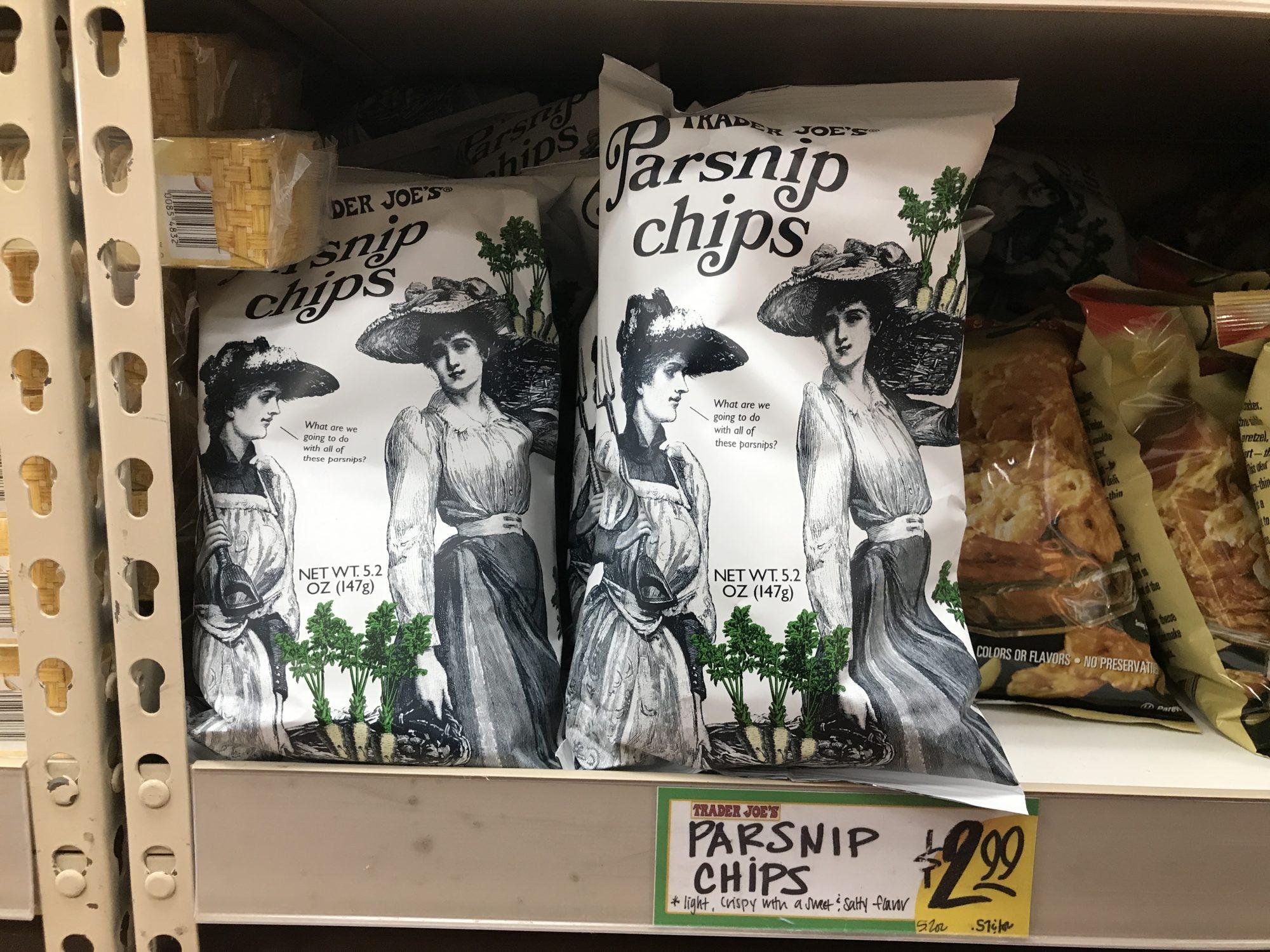 TJ Parsnip Chips
