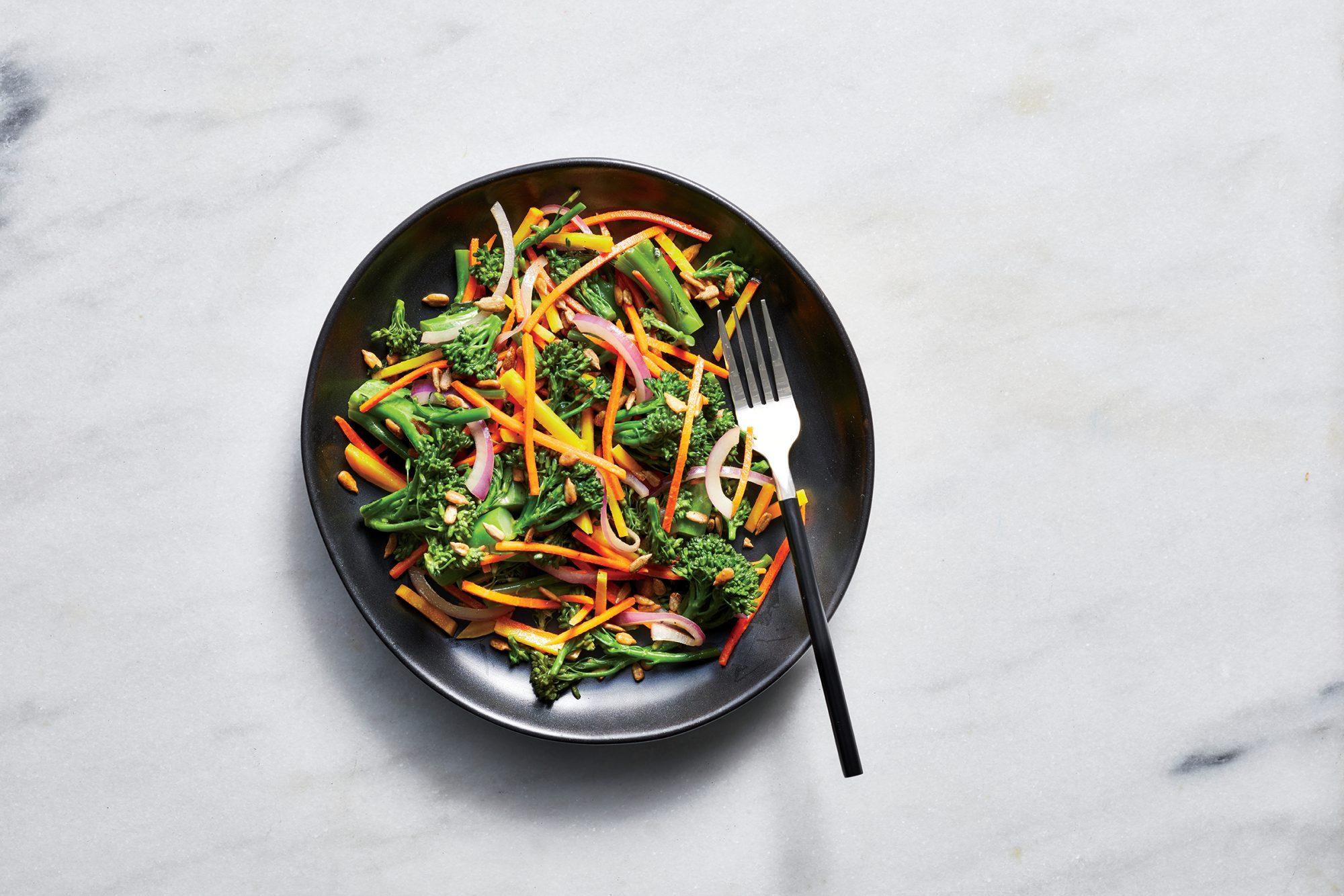 Broccolini Slaw