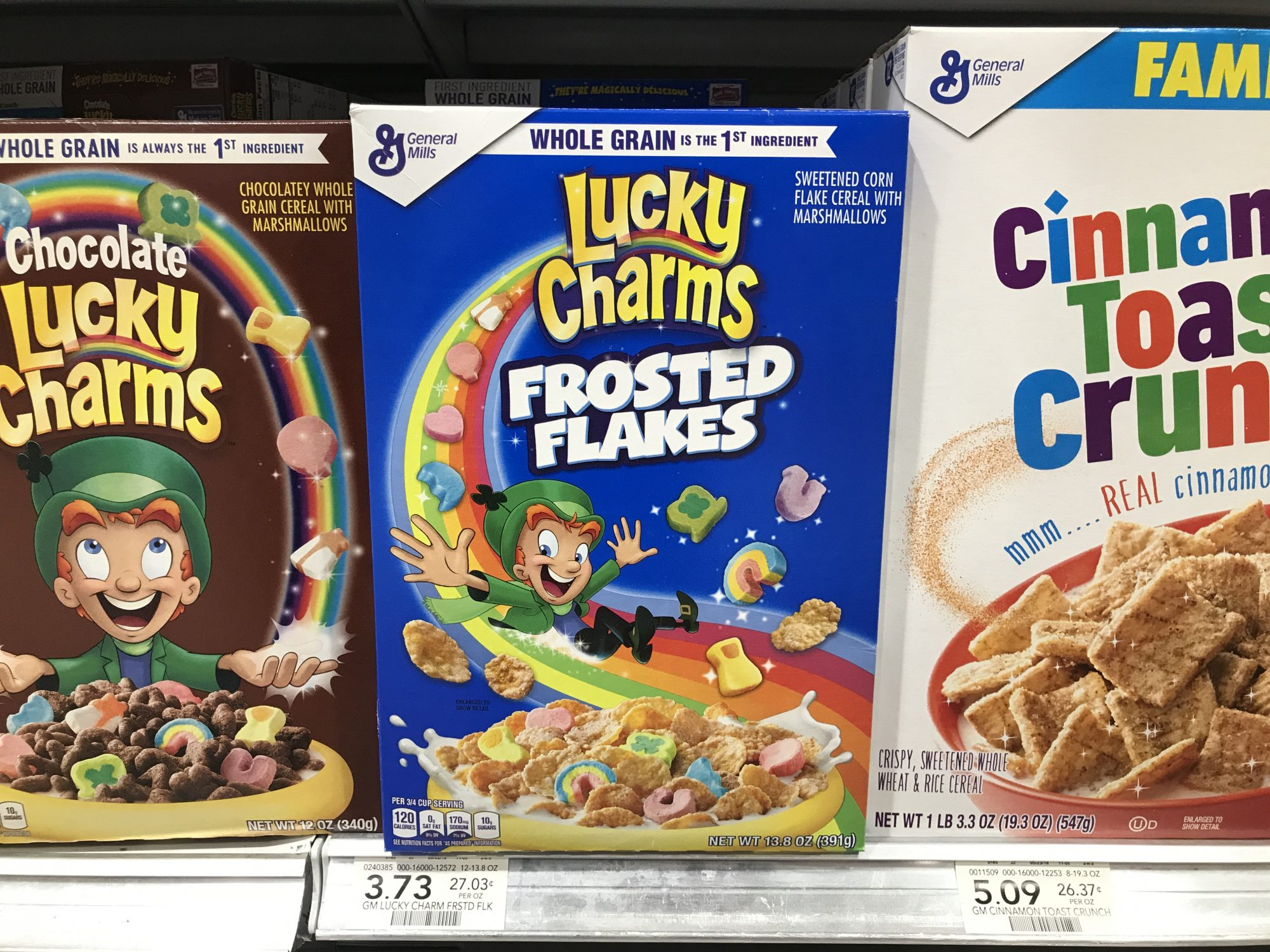 FrostedFlakes Lucky Charms image