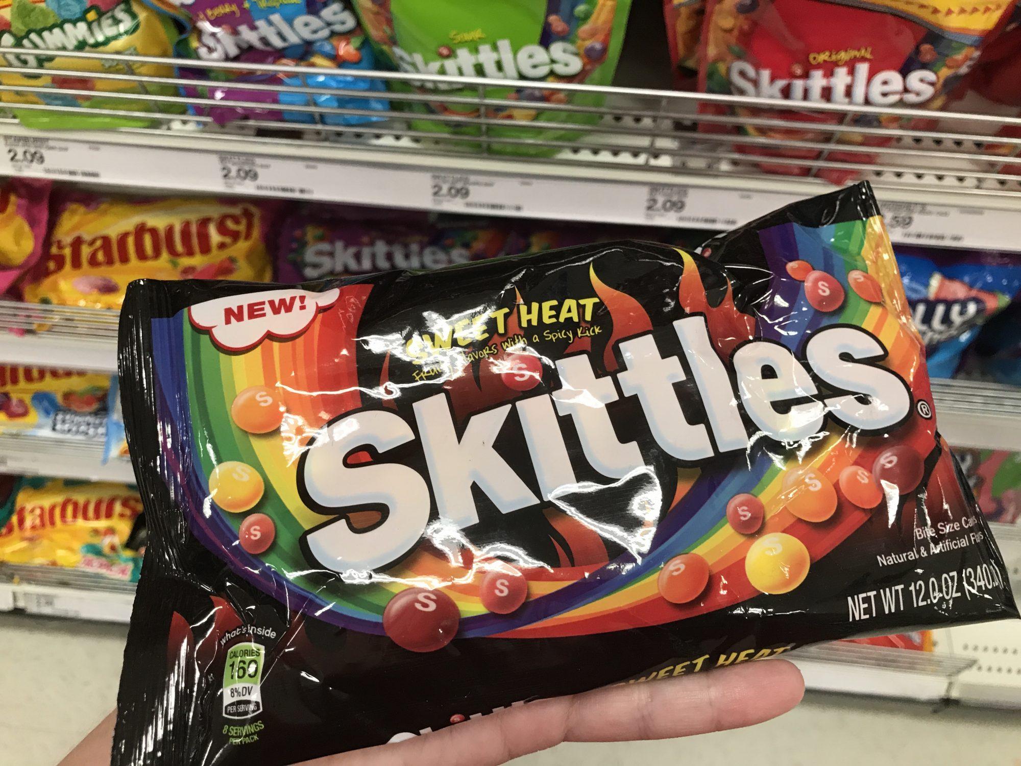 Sweet Heat Skittles image