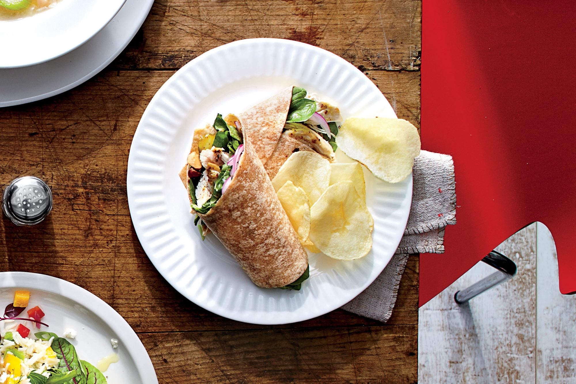 Almond-Chicken Wrap Recipe