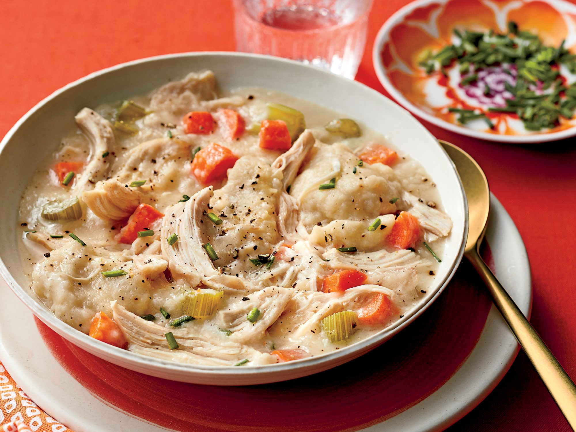 sl-Old-Fashioned Chicken And Dumplings