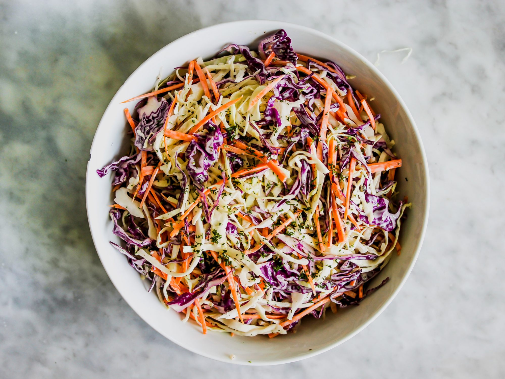 How to Make the Creamiest, Crunchiest Coleslaw You've Ever Tasted