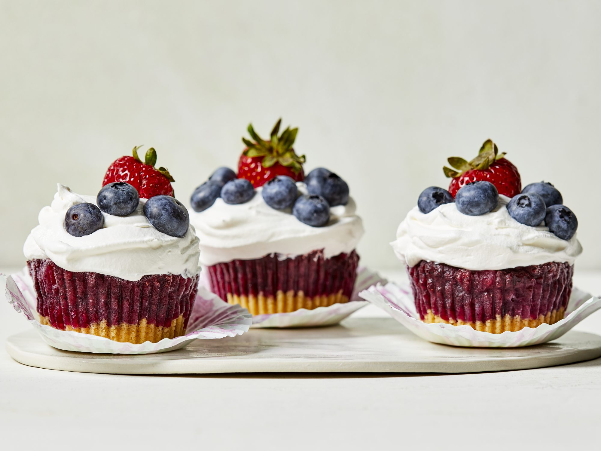 "Blueberry Sorbet ""Cupcakes"" image"