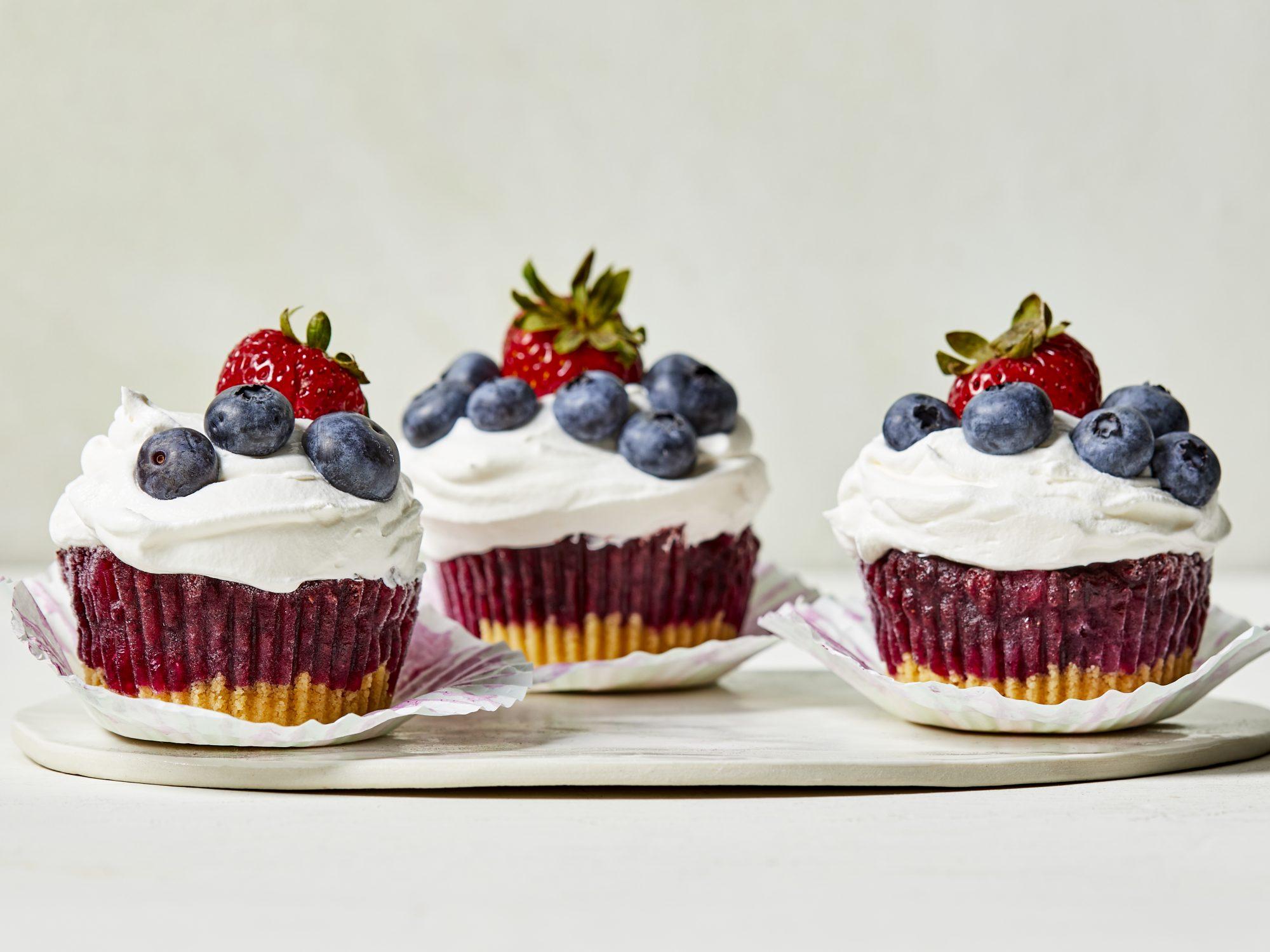 "Blueberry Sorbet ""Cupcakes"" image"
