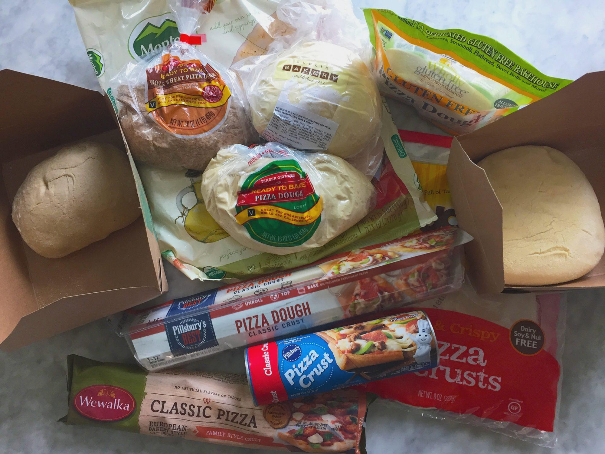 Pizza Dough Taste Test