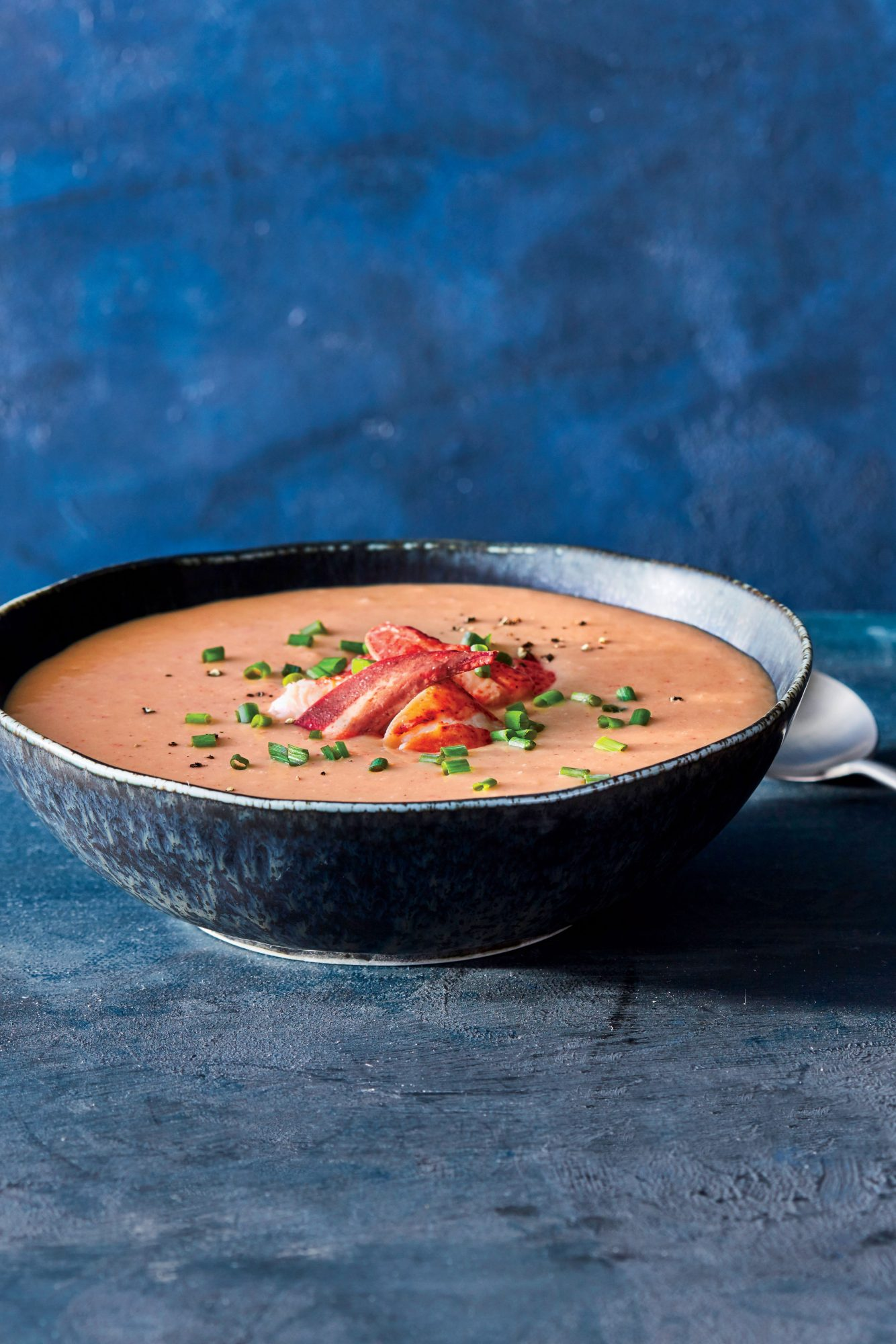 Brown-Butter Lobster Bisque