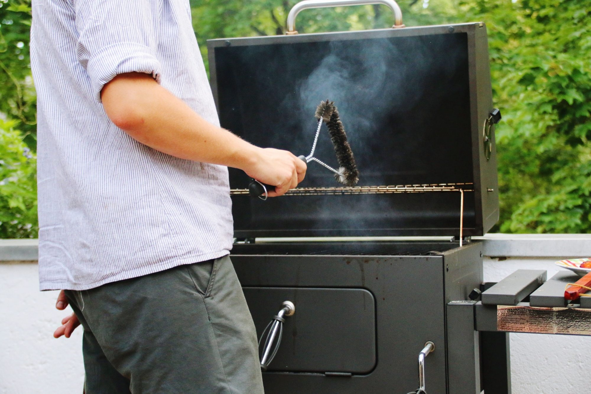Why You Should Never Use a Wire Brush to Clean Your Grill
